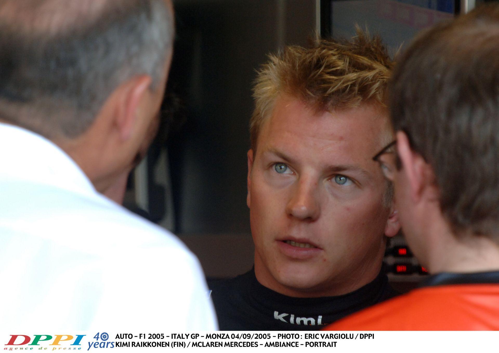 Amikor még tele volt szponzorokkal a McLaren: és Kimi is ott volt