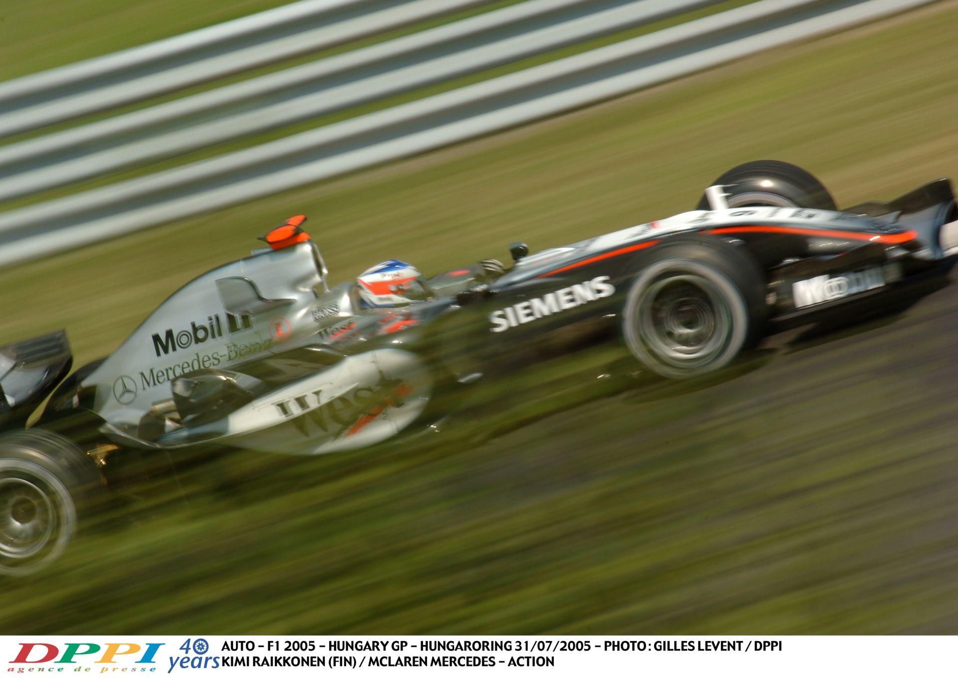 Egyszerűen tökéletes: Raikkönen száguldása a McLarennel a Hungaroringen