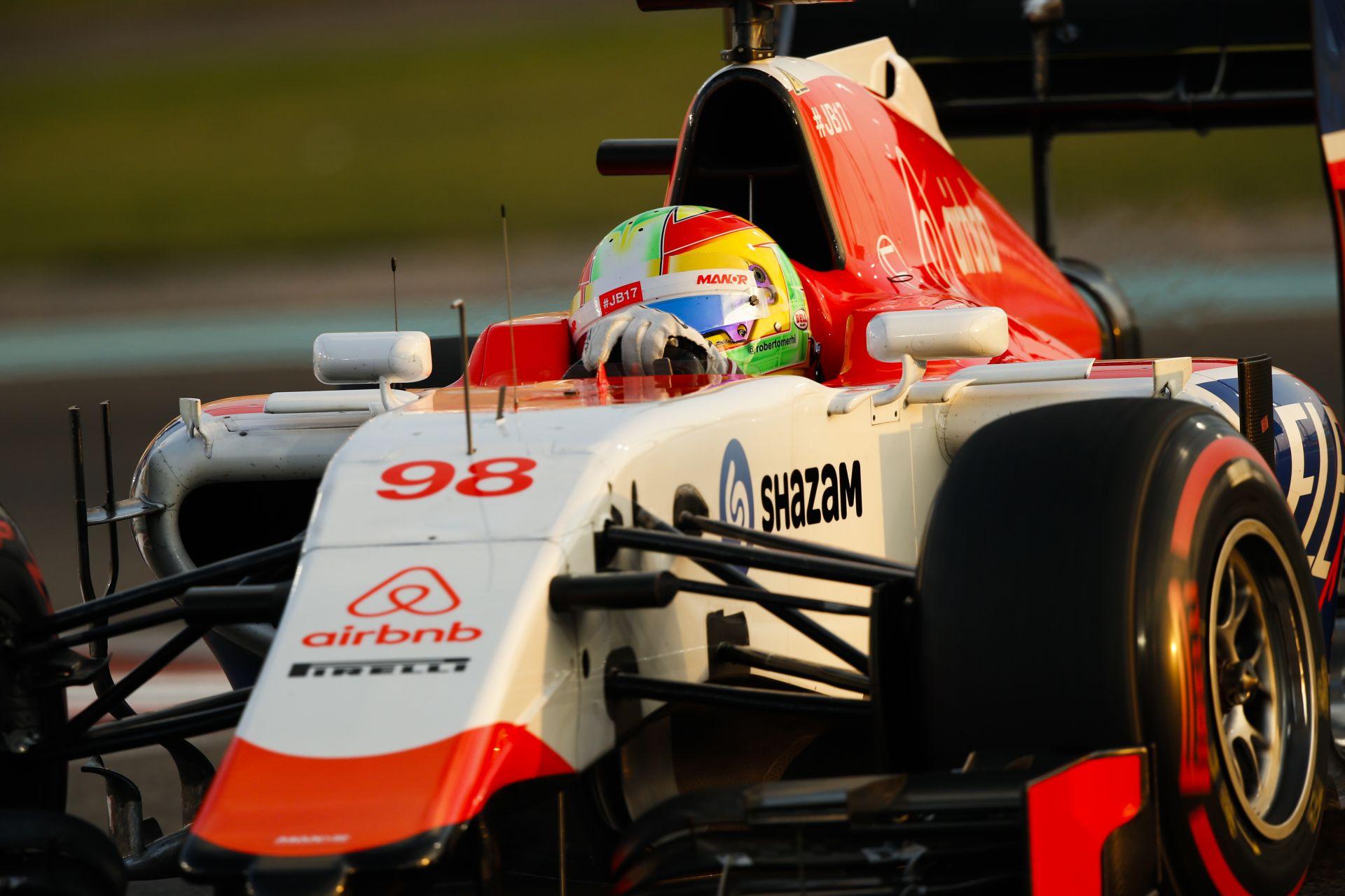 Sokkoló, amit a Manor F1 Team csinál: számolni kell velük?
