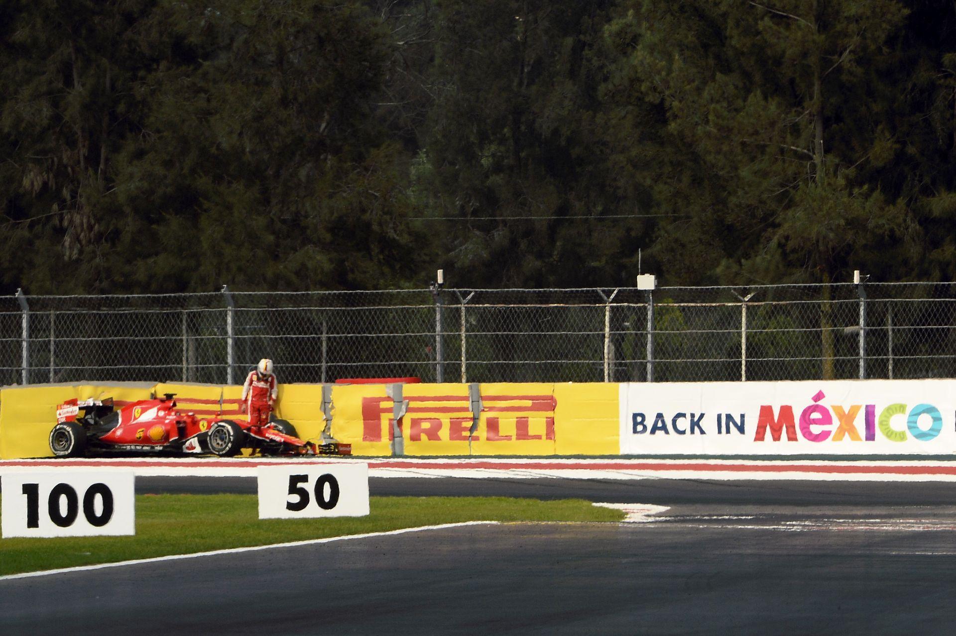 Finnek és korábbi csapattársak ütköztek Mexikóban: Vettel vállalja, hogy ma kevés volt