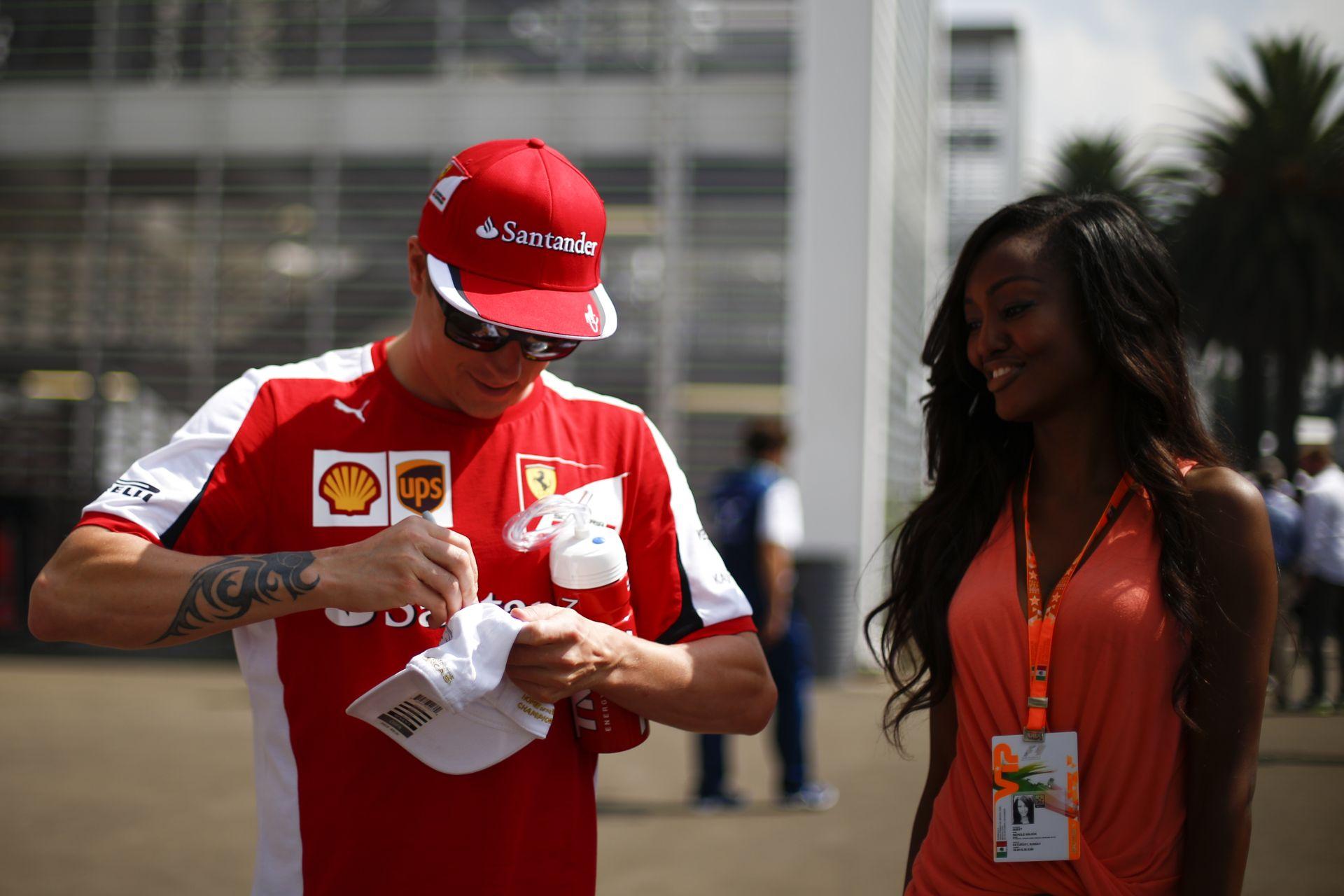 Räikkönen már pontosan 100 nagydíj óta nem indult pole pozícióból!