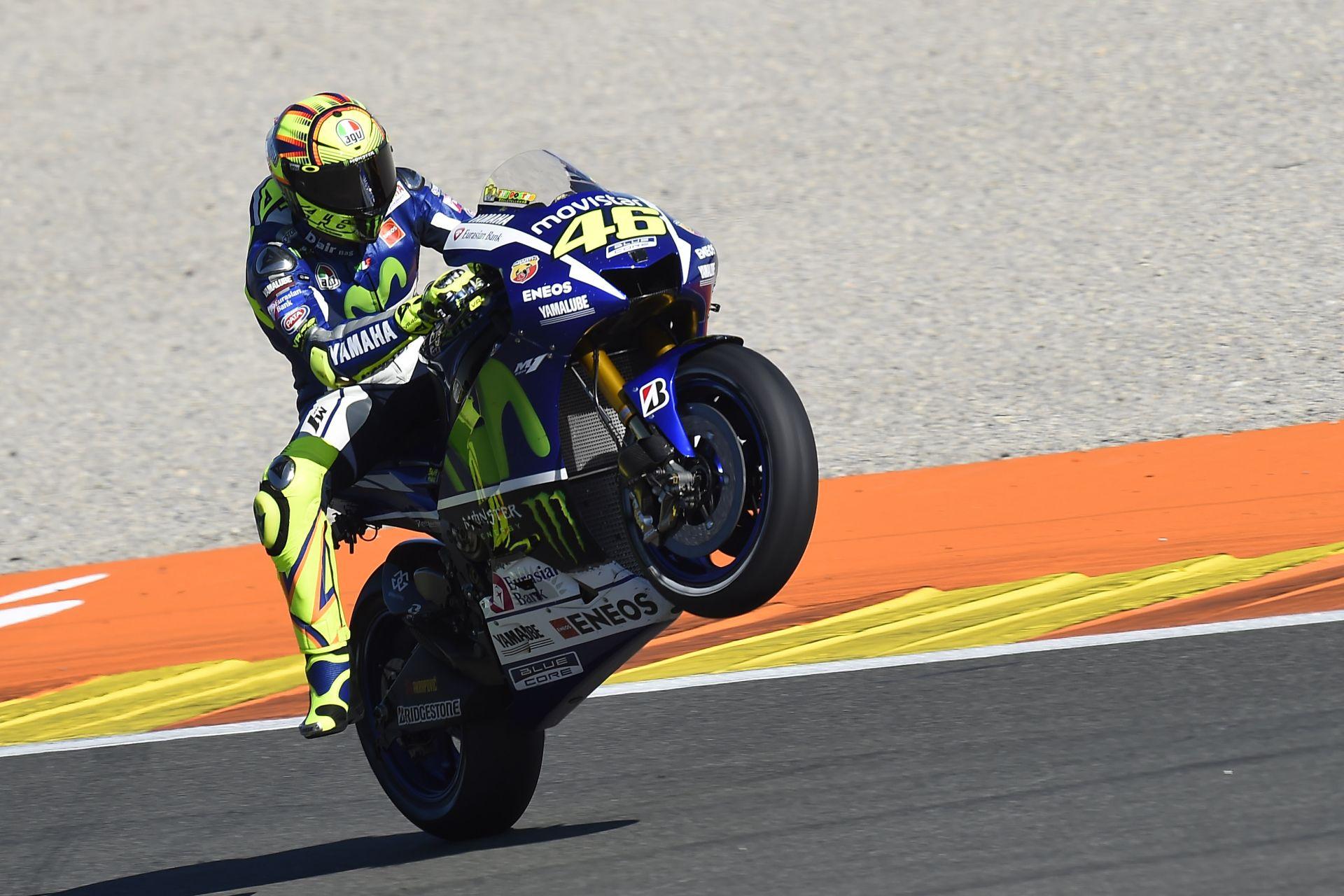Vettel szerint Rossi a legjobbat hozta ki magából Valenciában