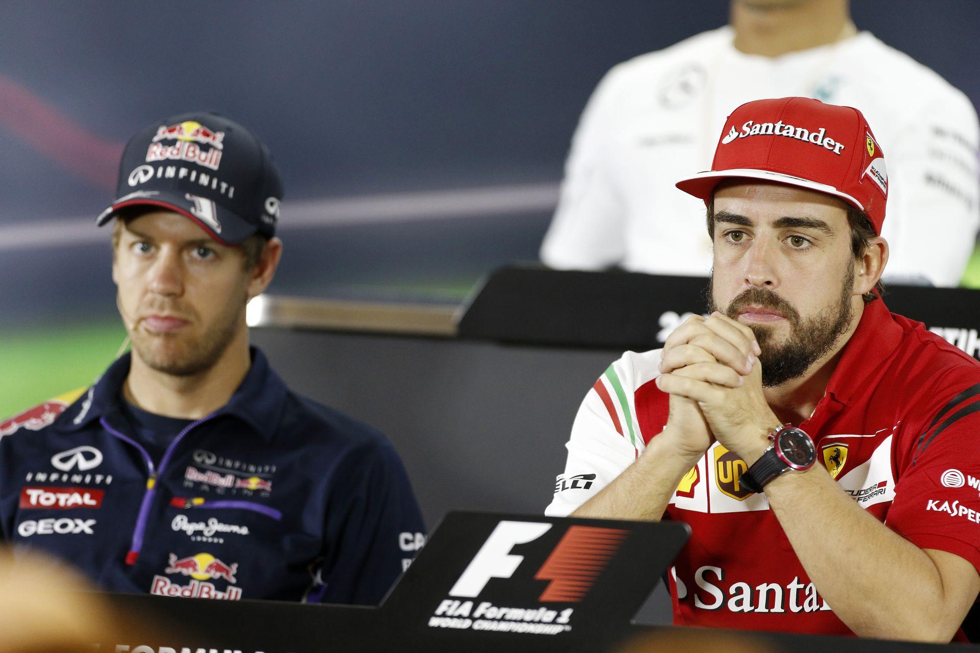 Vettel nem tudta túlszárnyalni Alonso bemutatkozó évét a Ferrarinál!