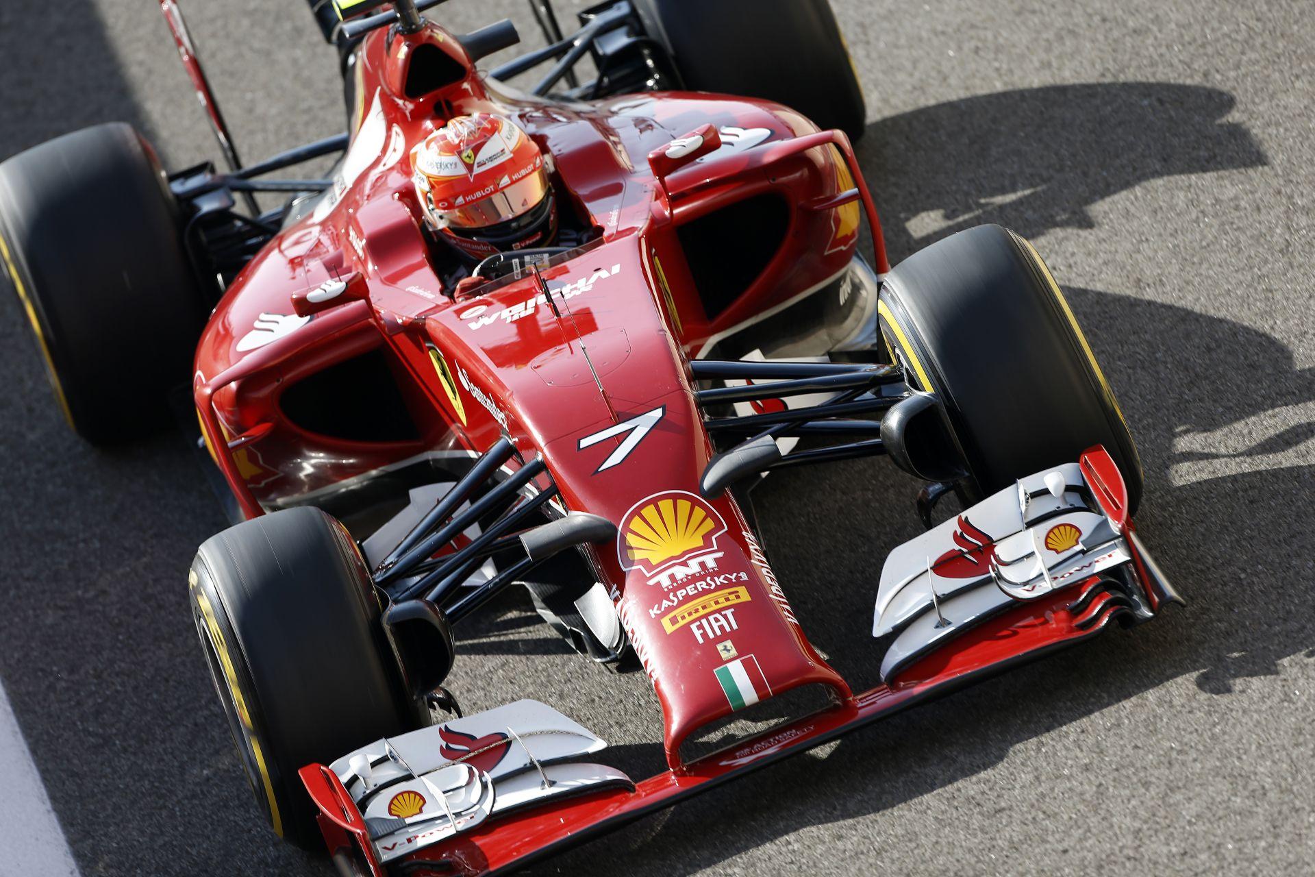 Vettel és Raikkönen is részt vesz az idei utolsó F1-es teszten
