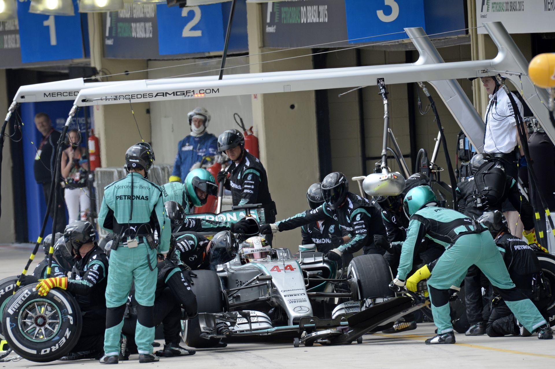 A Mercedesnek abszolút nincs min izgulnia Abu Dhabiban!