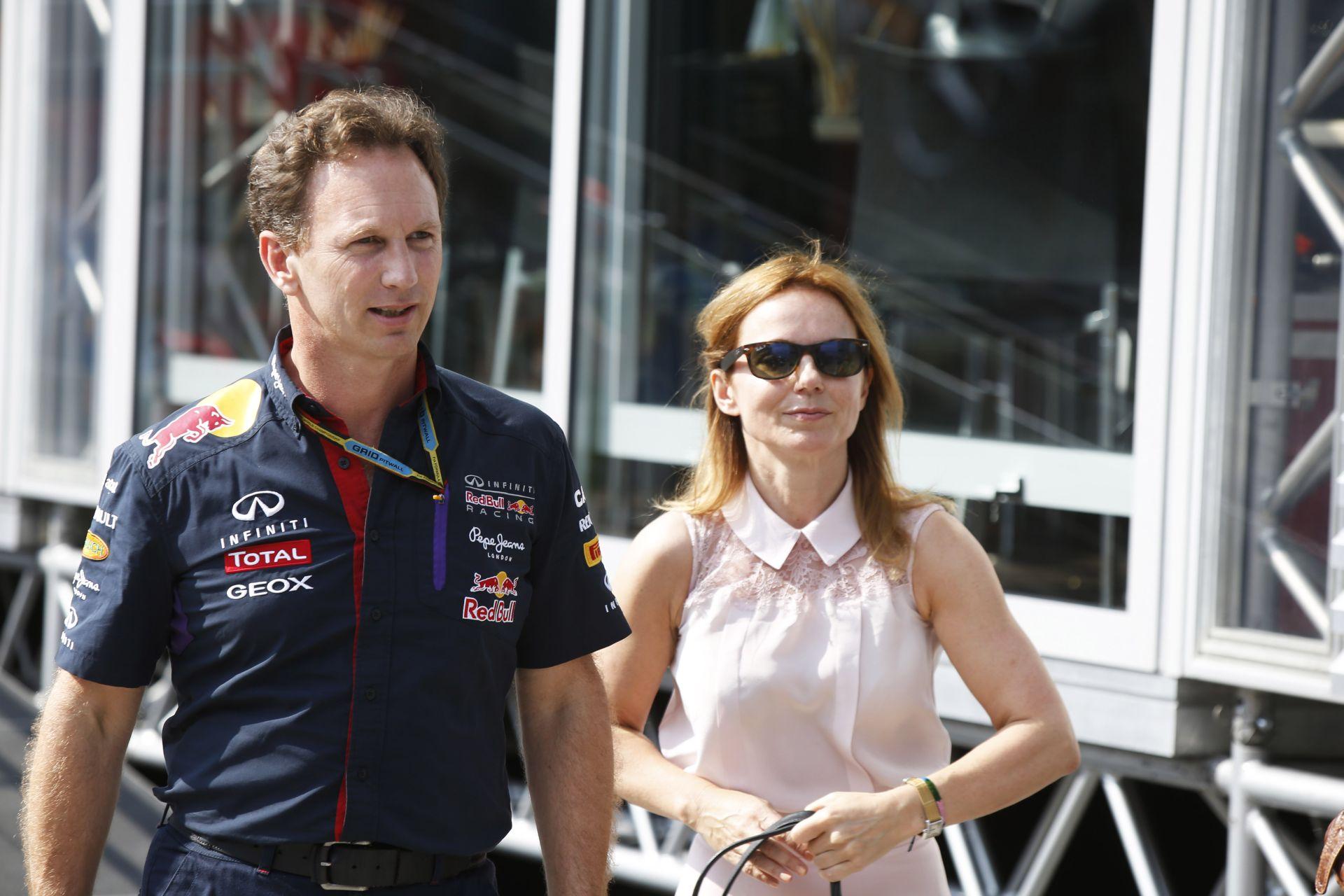 A Red Bull csapatfőnöke és az ex-Spice Girl - akiket tényleg egymásnak teremtettek!