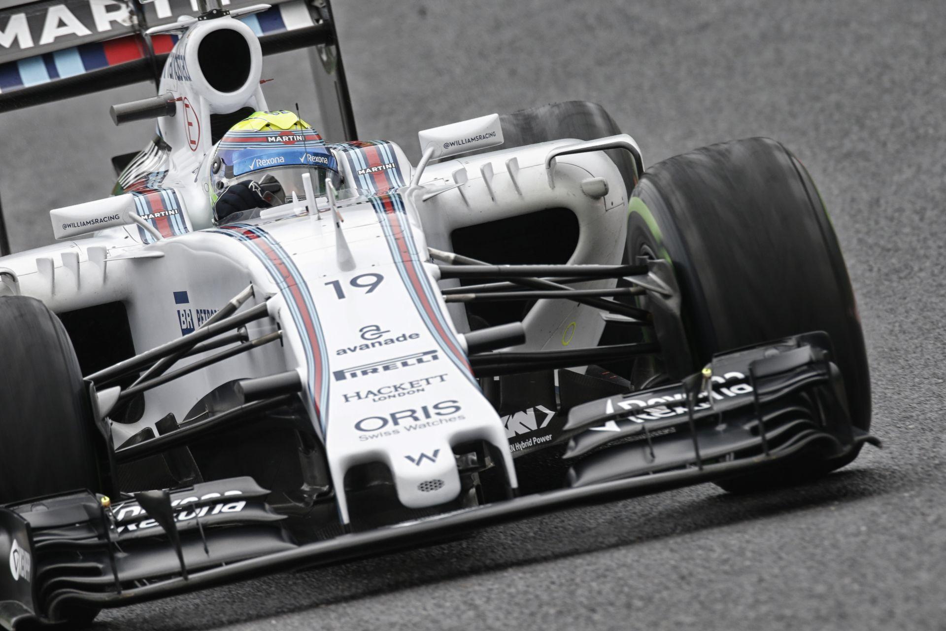 """Massa """"hajózta"""" a legjobb időt Vettel és Bottas előtt Szocsiban a második edzésen: Verstappen 4., Alonso 5."""