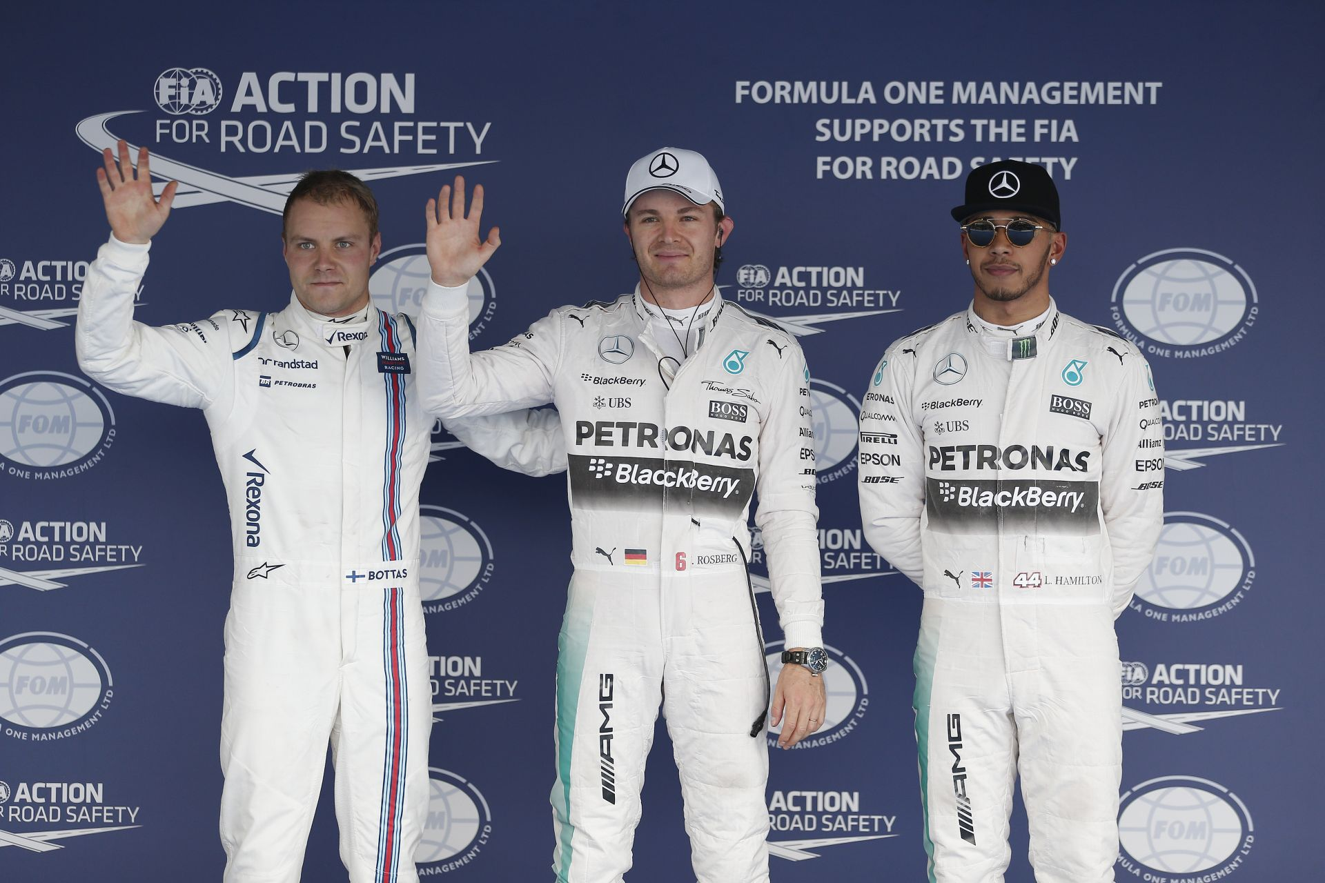 Mi történt ma a pole-király Hamiltonnal? Rosberg erőből nyomta le