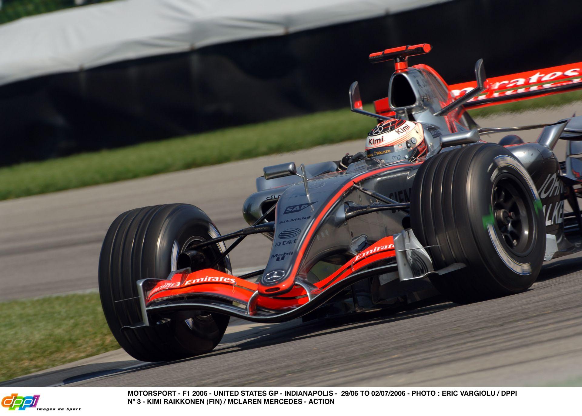 Egy hajtós kör Raikkönennel és a brutál hangos McLarennel Indianapolisban
