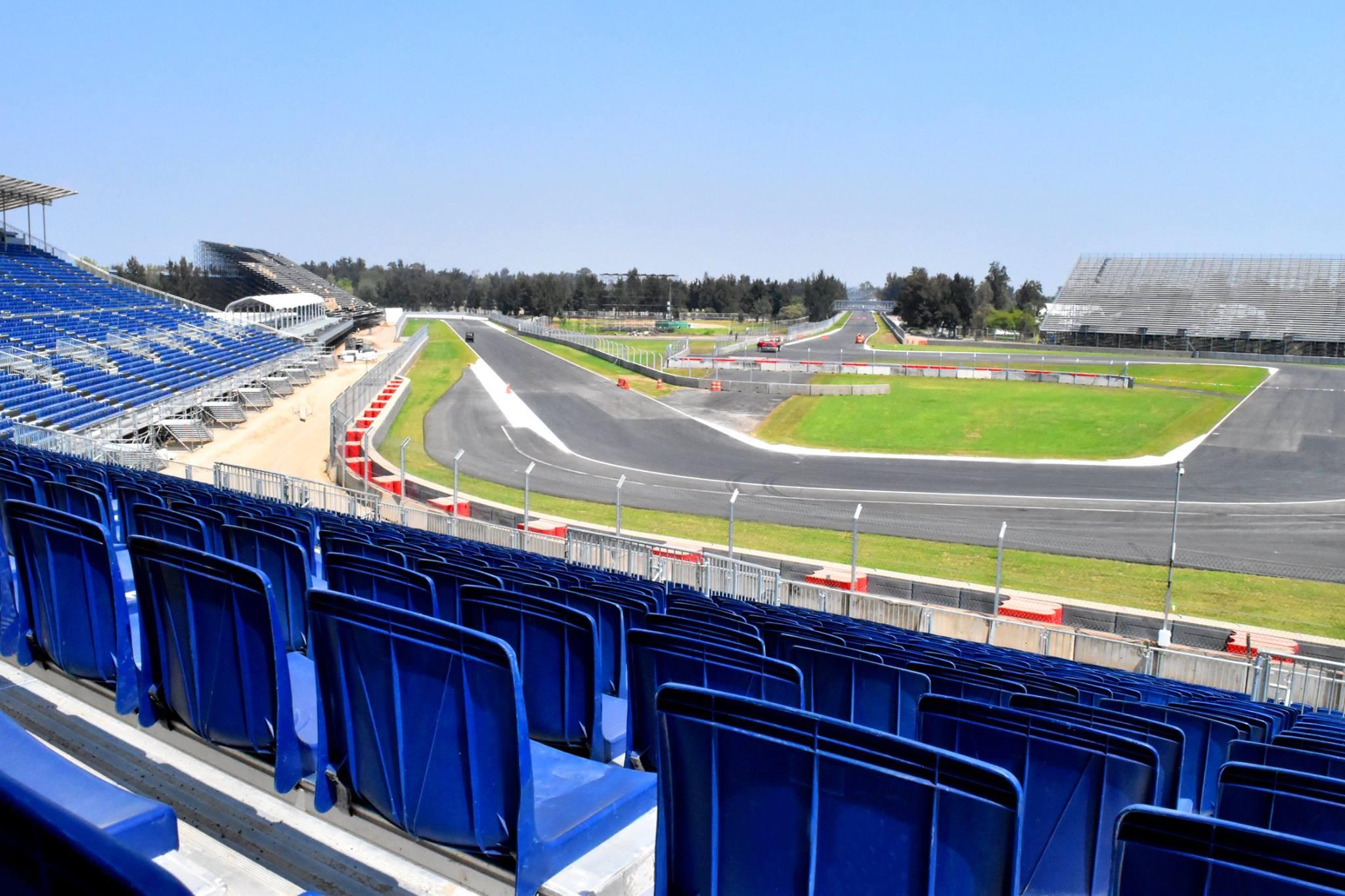 Új képek érkeztek az F1-es mexikói versenypályáról