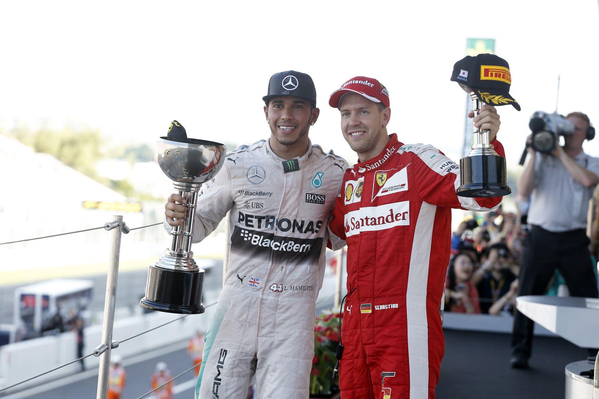 Amikor nagyon ment a szekér Vettelnek, Hamilton teljesen mást nyilatkozott róla: milyen érdekes...