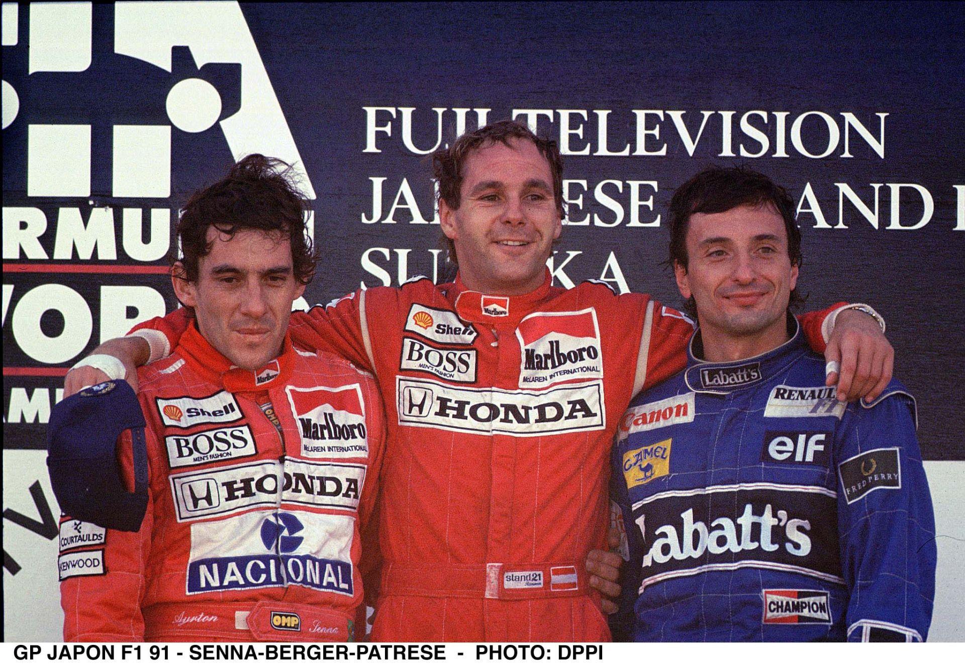 Senna 1991-ben ezen a napon szerezte meg az utolsó bajnoki címét a Forma-1-ben