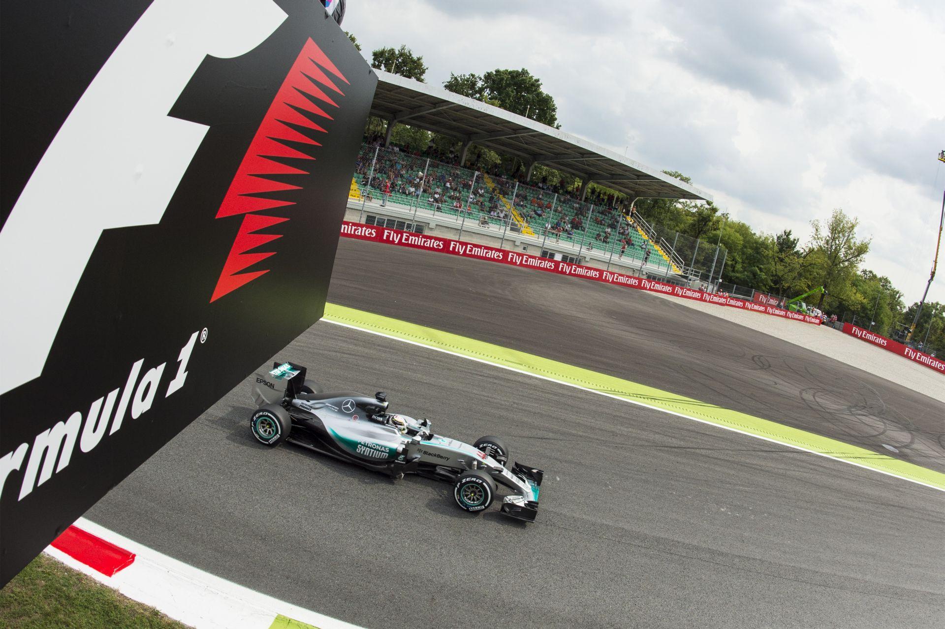 Hamilton nyerte az utolsó szabadedzést Monzában Vettel és Rosberg előtt! Raikkönen csak 7.