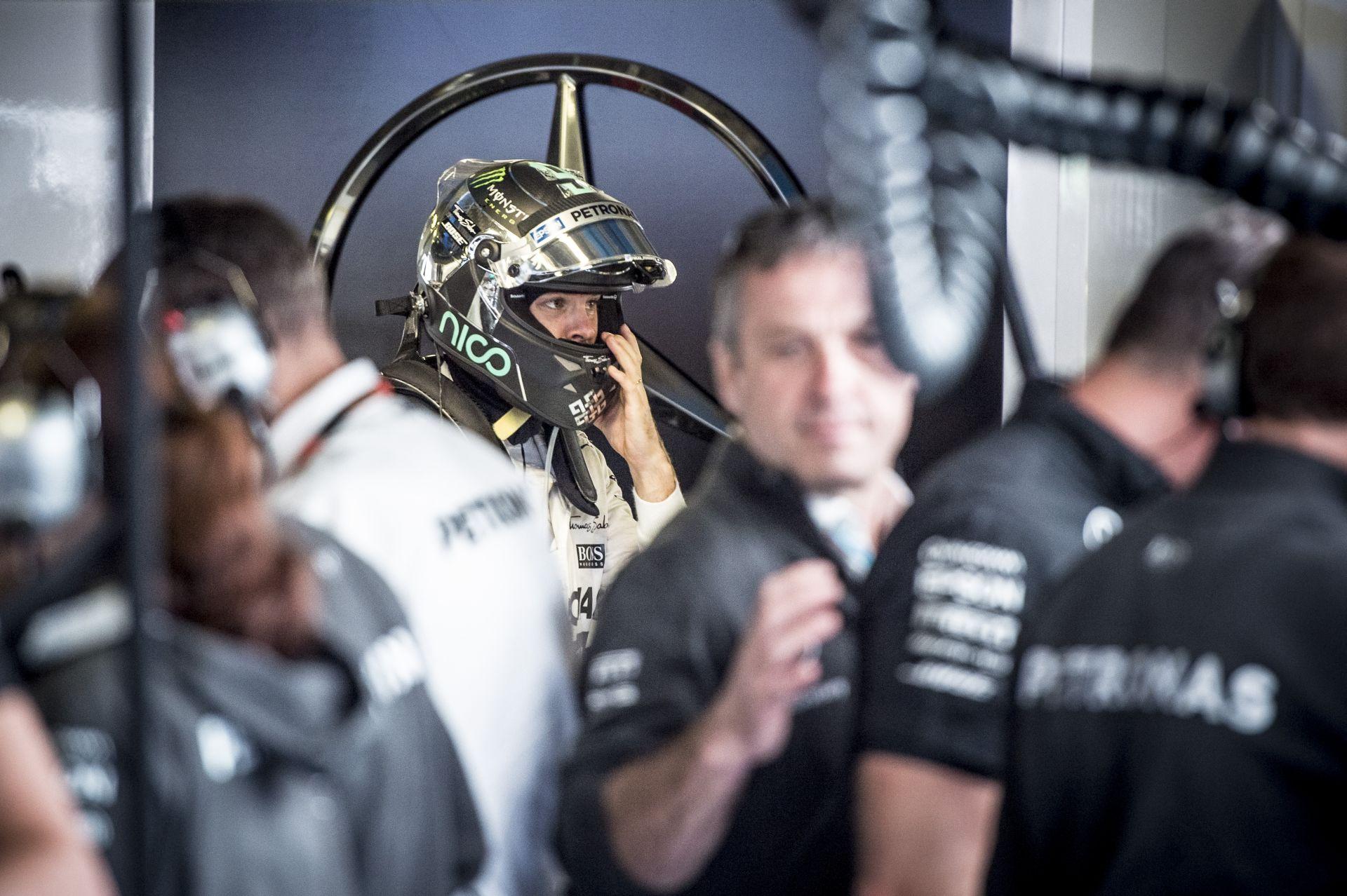 Rosberg lehet, hogy Szingapúrban már a negyedik erőforrását használja!