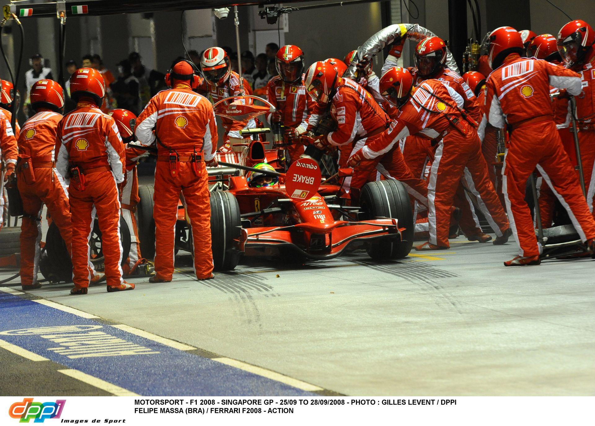Massa számára örök kereszt marad a 2008-as Szingapúri Nagydíj