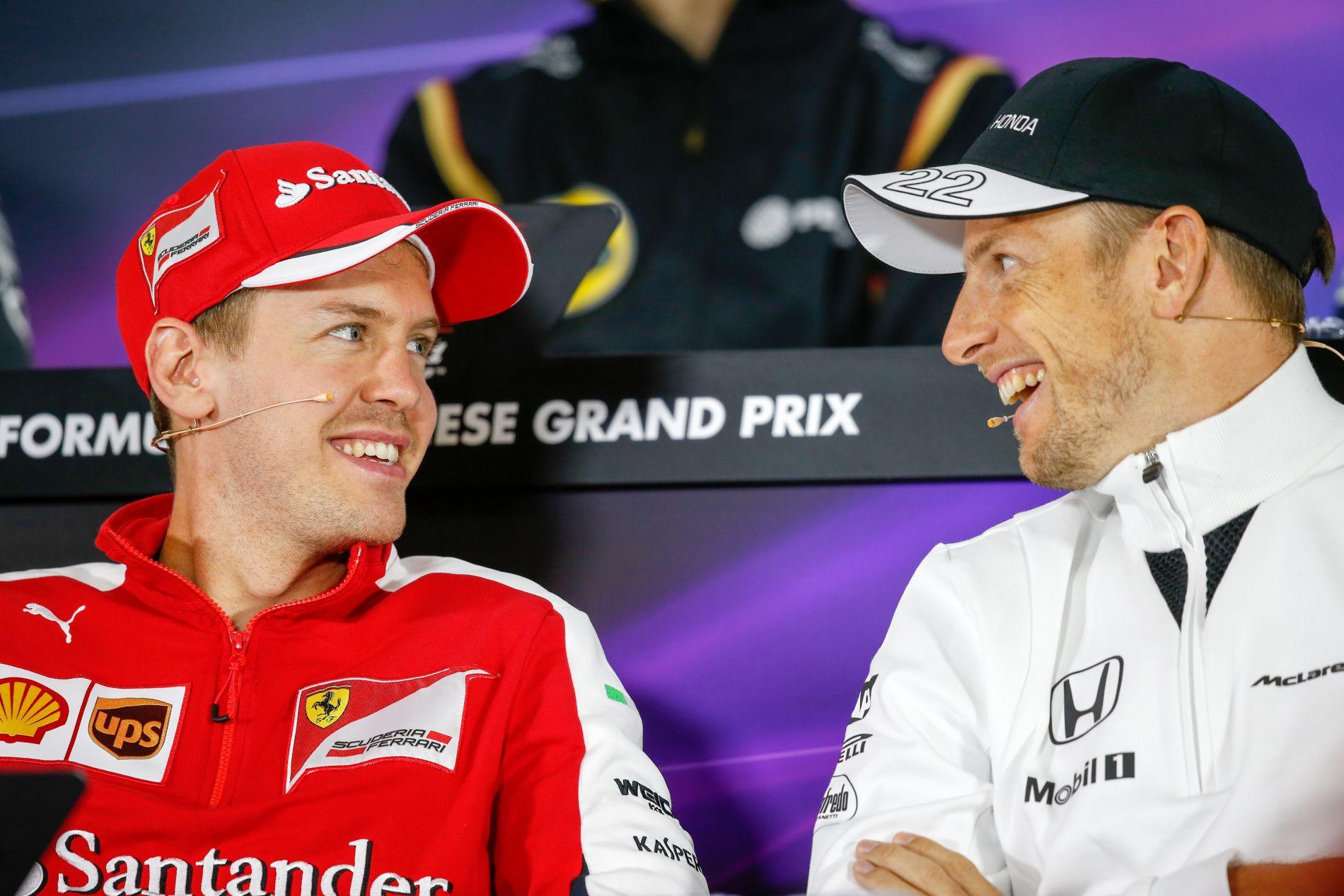 """Button majdnem elsírta magát Vettel szavai után: """"Kösz haver!"""""""