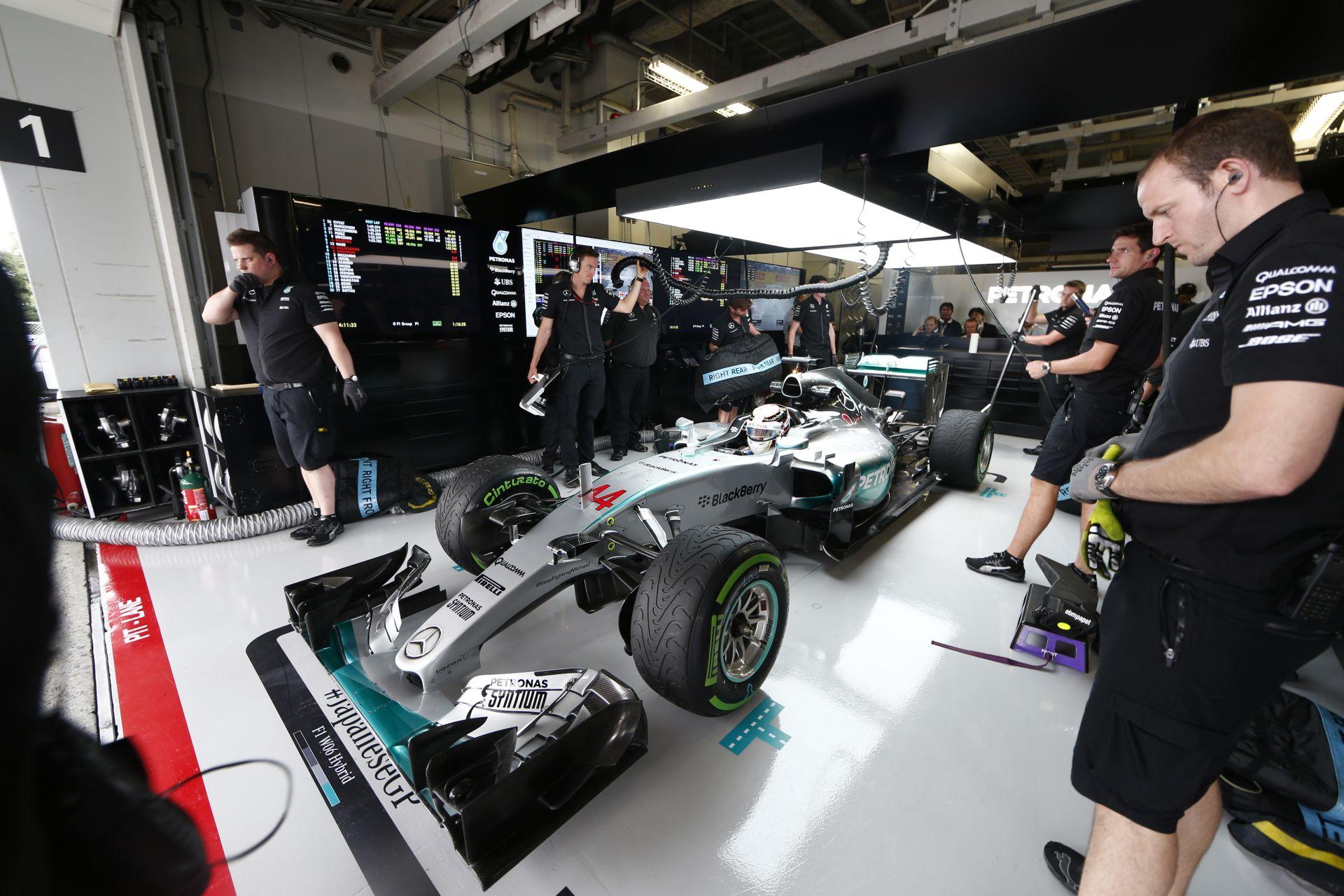 Szándékosan nem mutatták a Mercedest, Hamiltont és Rosberg Japánban a televíziós közvetítések ideje alatt?!