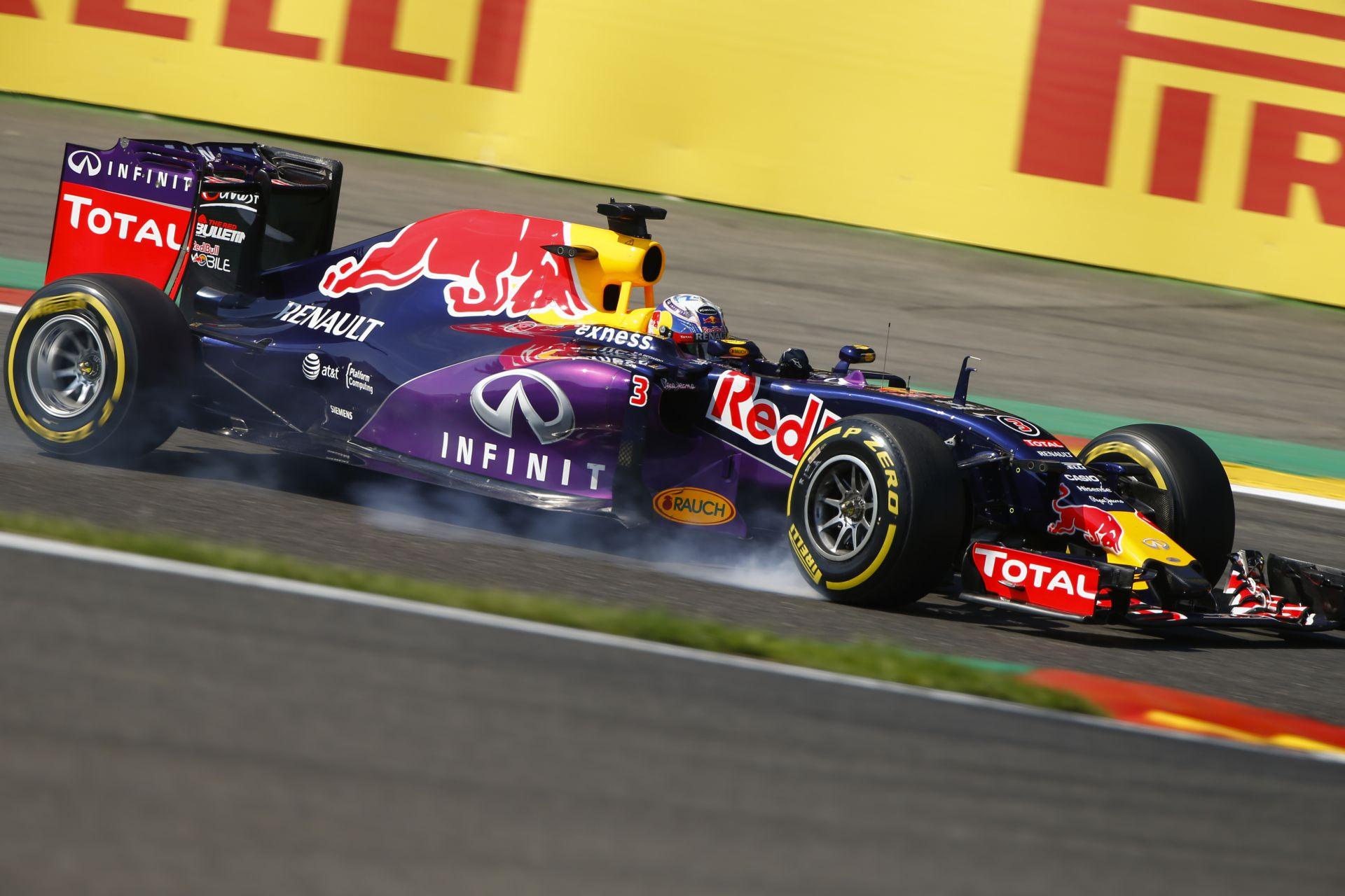 Red Bull-Renault: Egyik szemünk sír, a másik nevet - összességében nem rossz ez Spában!