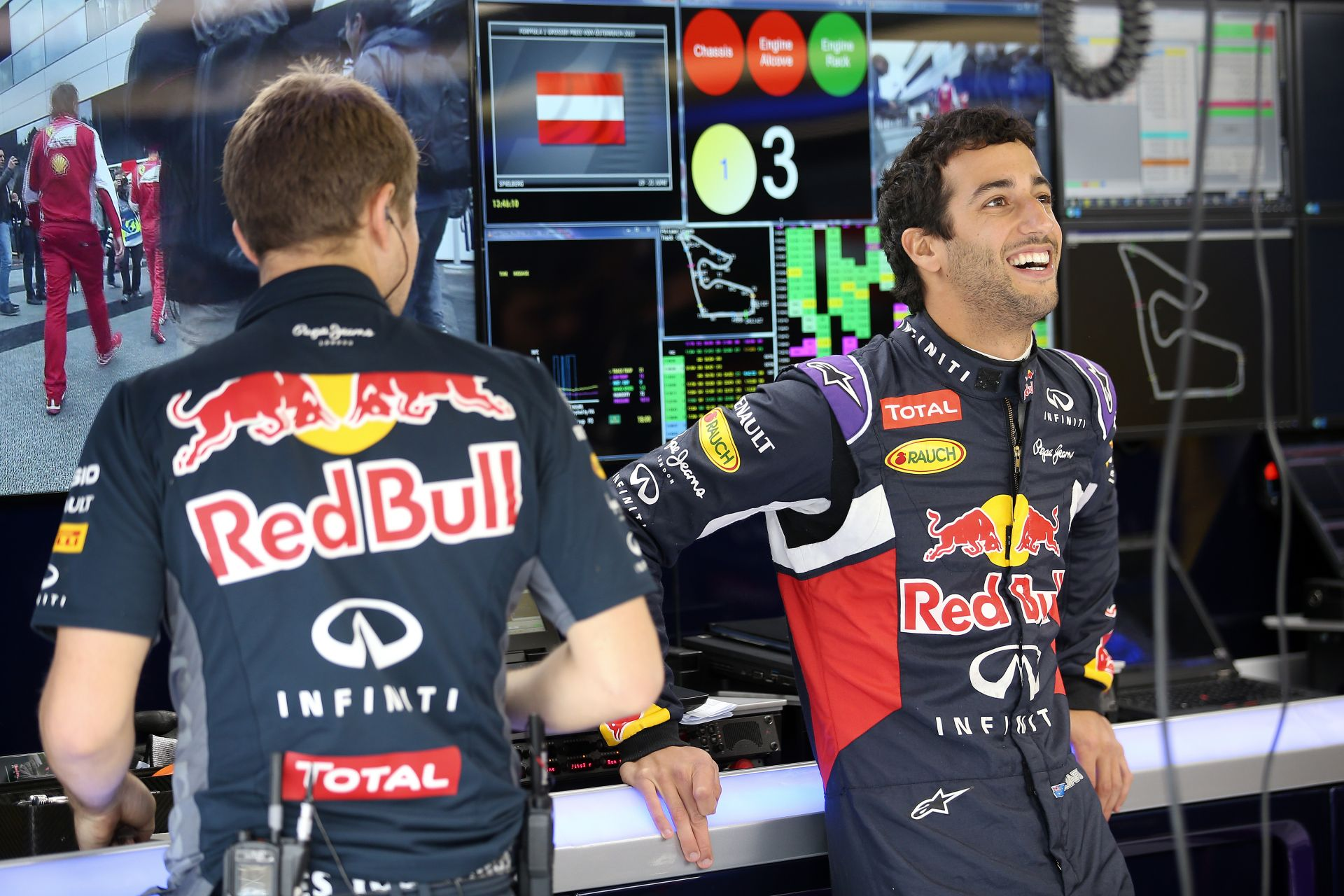 Ma 26 éves Daniel Ricciardo