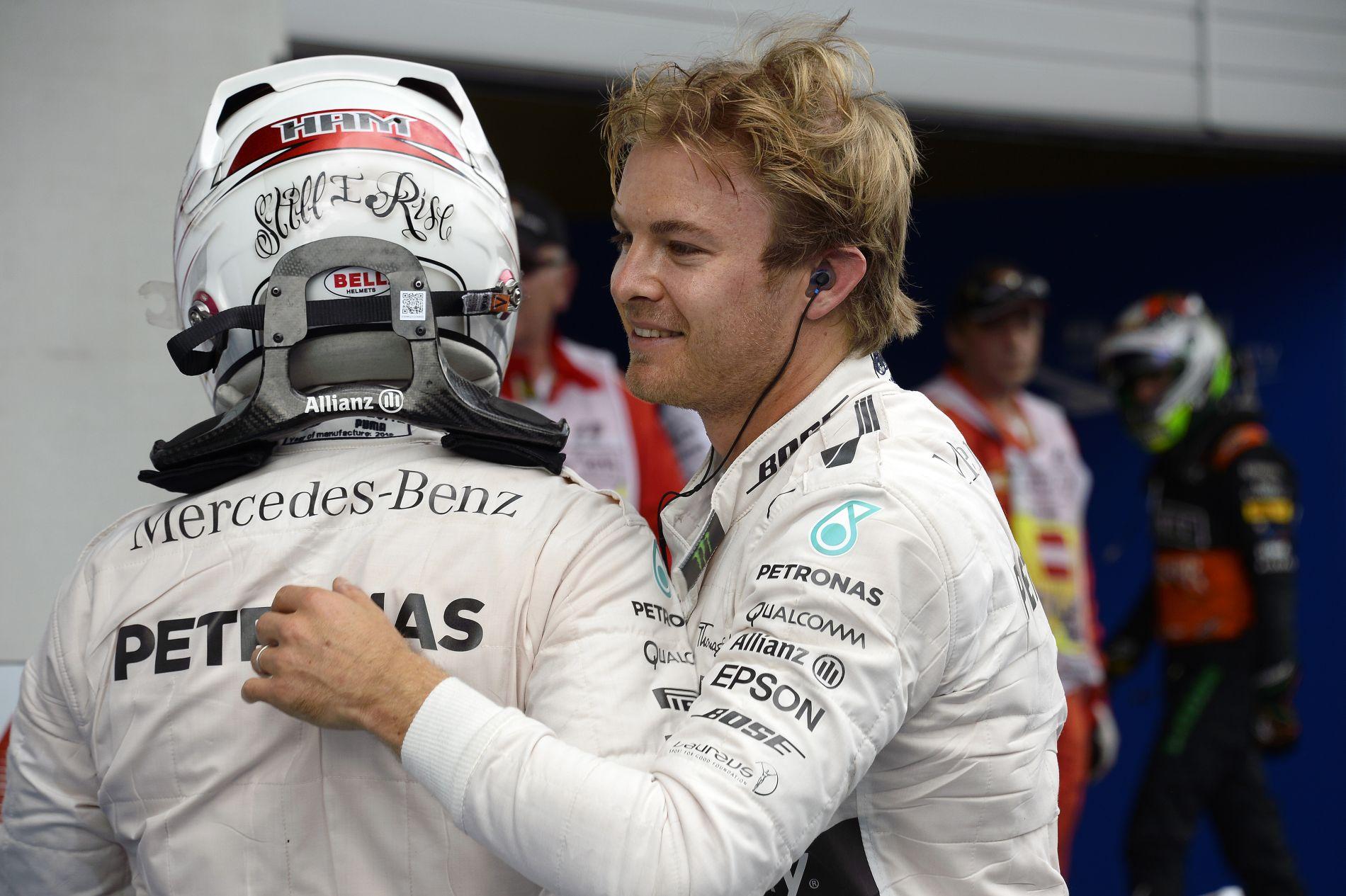 """Rosberg  olyan, mint a teniszben Murray: """"rossz társaságba"""" keveredett?"""