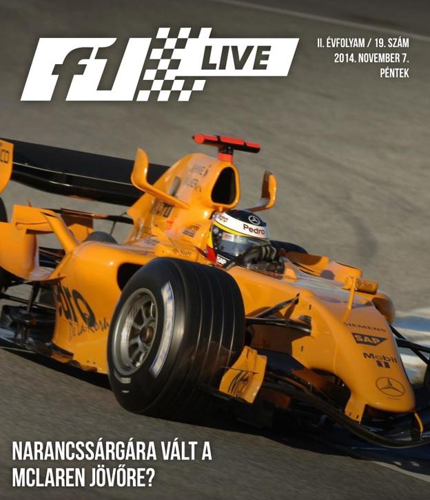 Táblamagazin: Narancssárgára vált a McLaren a Forma-1-ben?