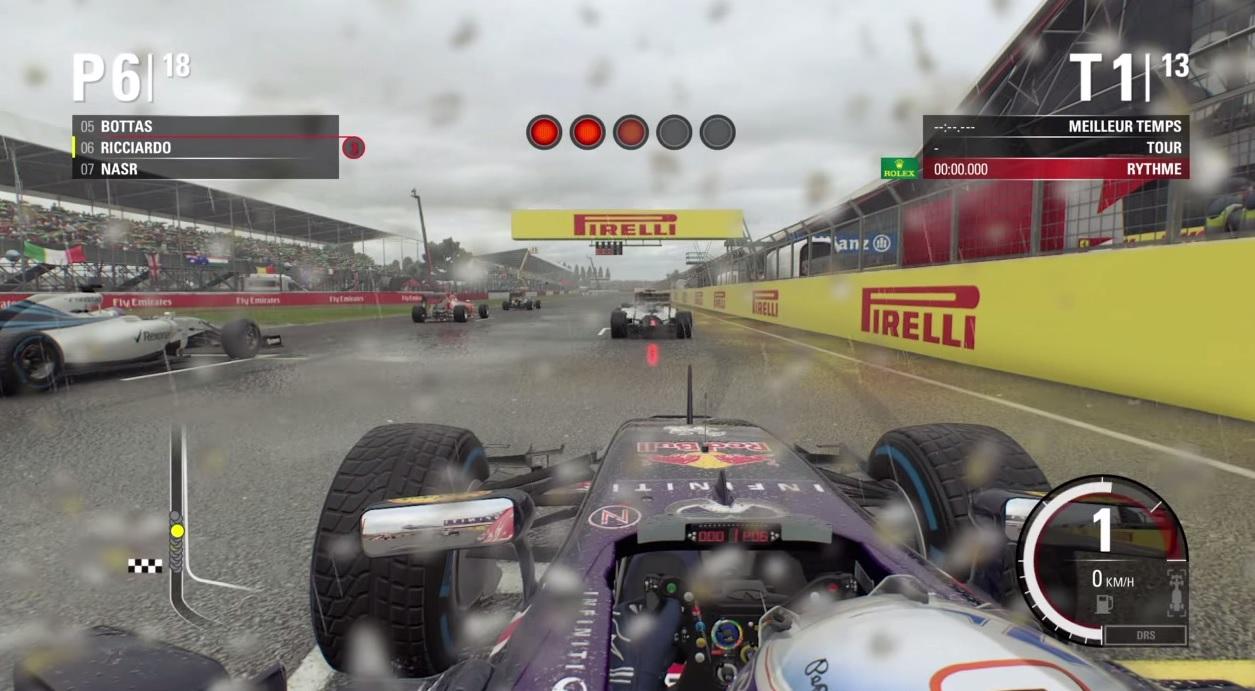 F1 2015: Egy verseny Ricciardóval a nagyon esős Silverstone-ban! A JÁTÉK!