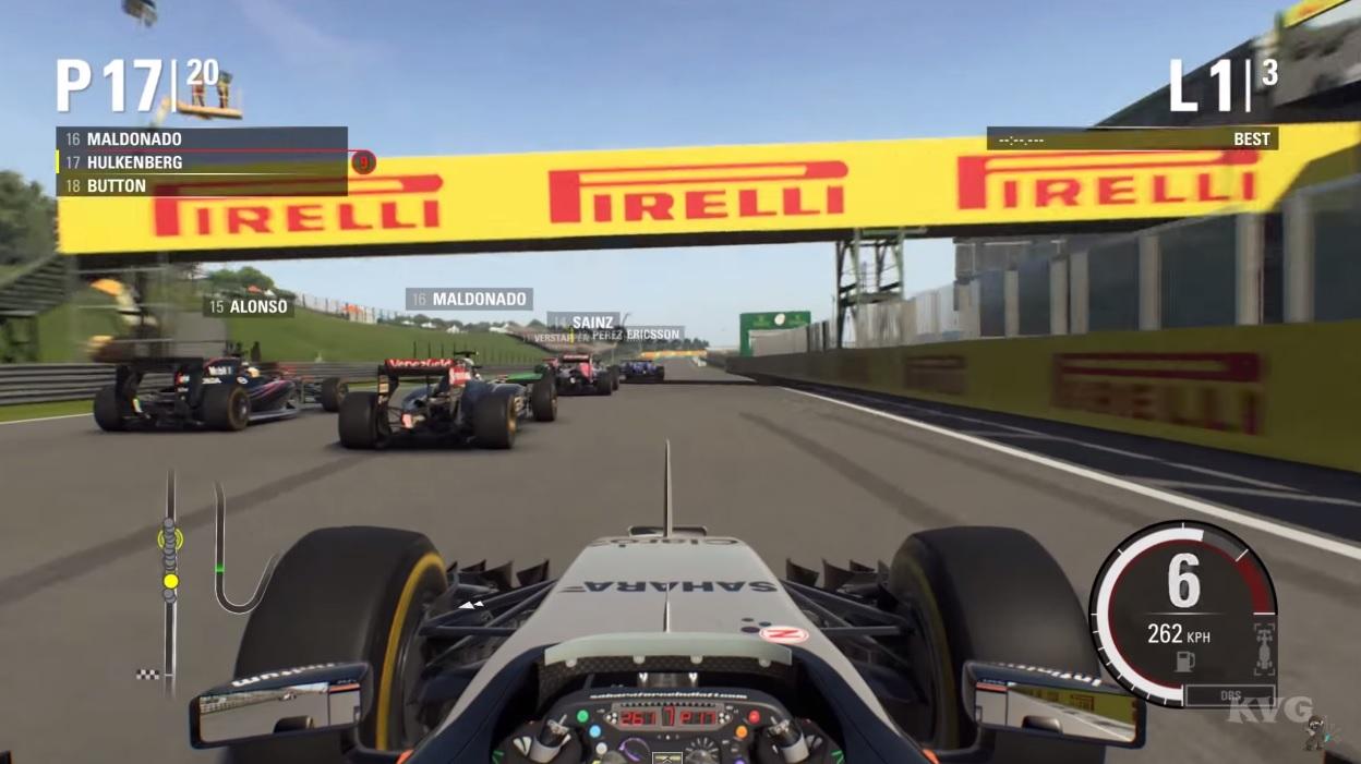 Ilyen lett a Hungaroring az F1 2015 játékban: Jó, vagy rossz?