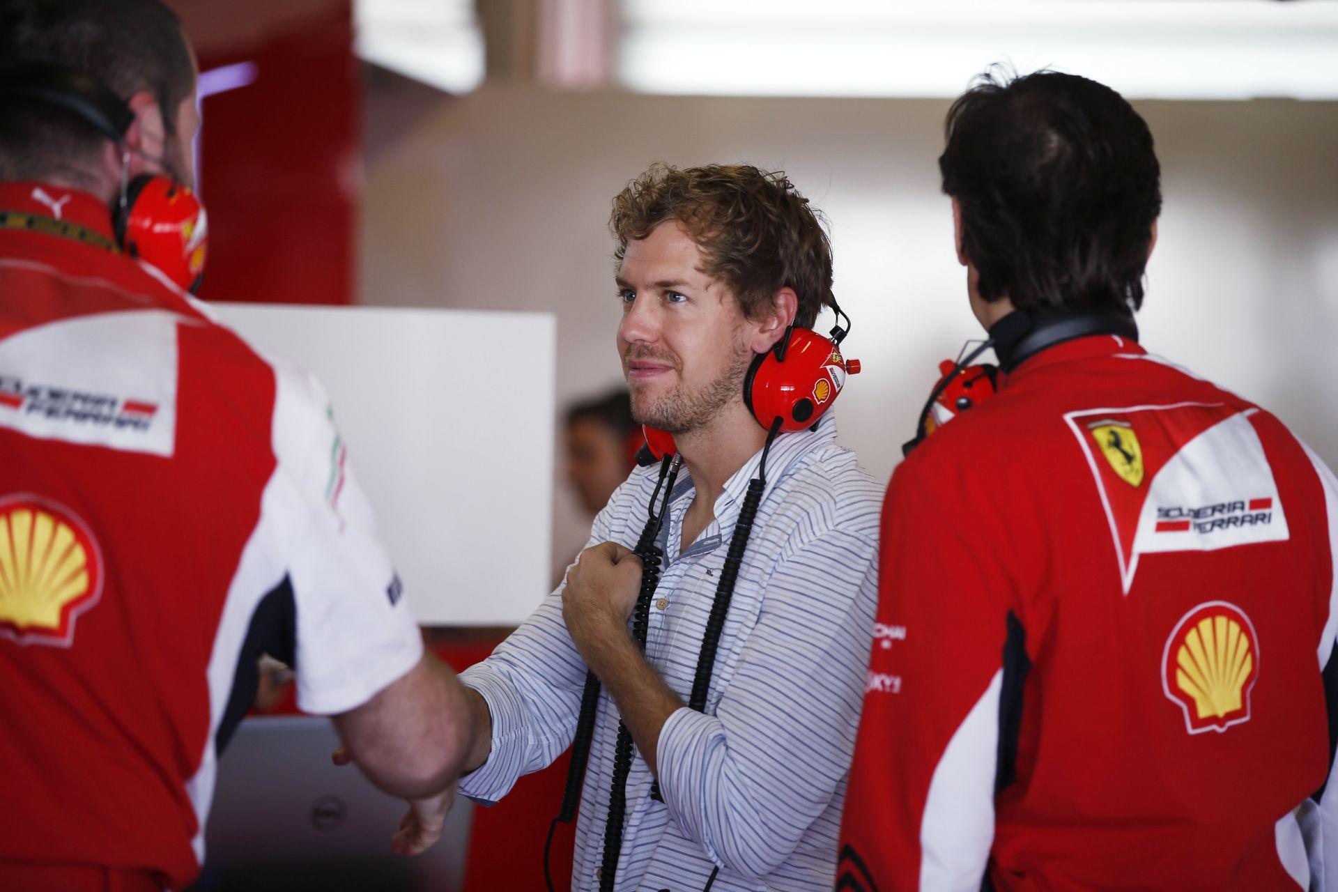 Vettel majdnem 100 kört teljesített a 2012-es Ferrarival szombaton