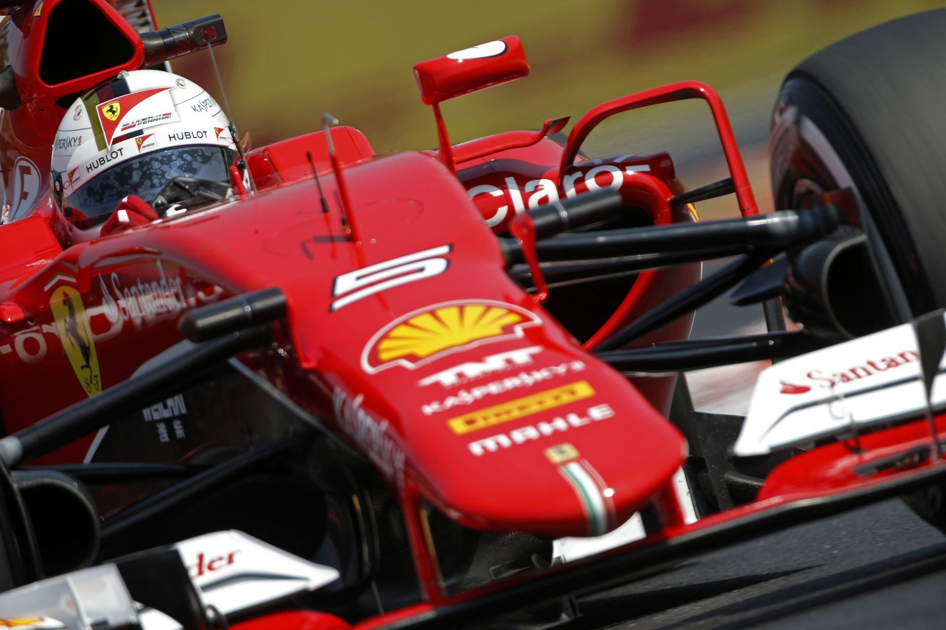 Vettel holnap megvédené a harmadik helyet, de még jobb lenne előrébb végezni