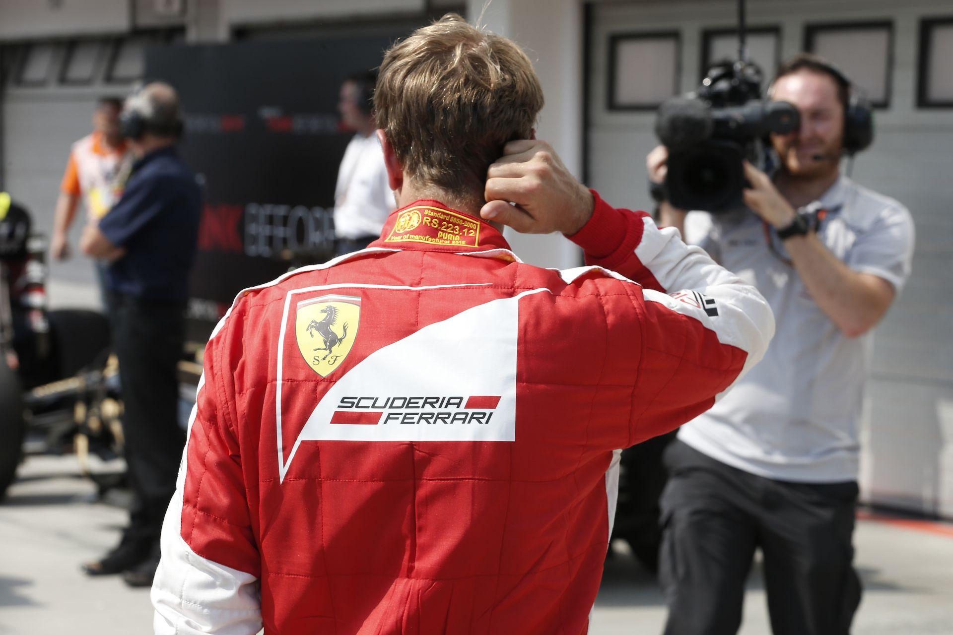 Vettel nyerte a drámai 30. Magyar Nagydíjat a Ferrarival Kvyat és Ricciardo előtt!  Verstappen 4., Alonso 5., Hamilton 6., Rosbe