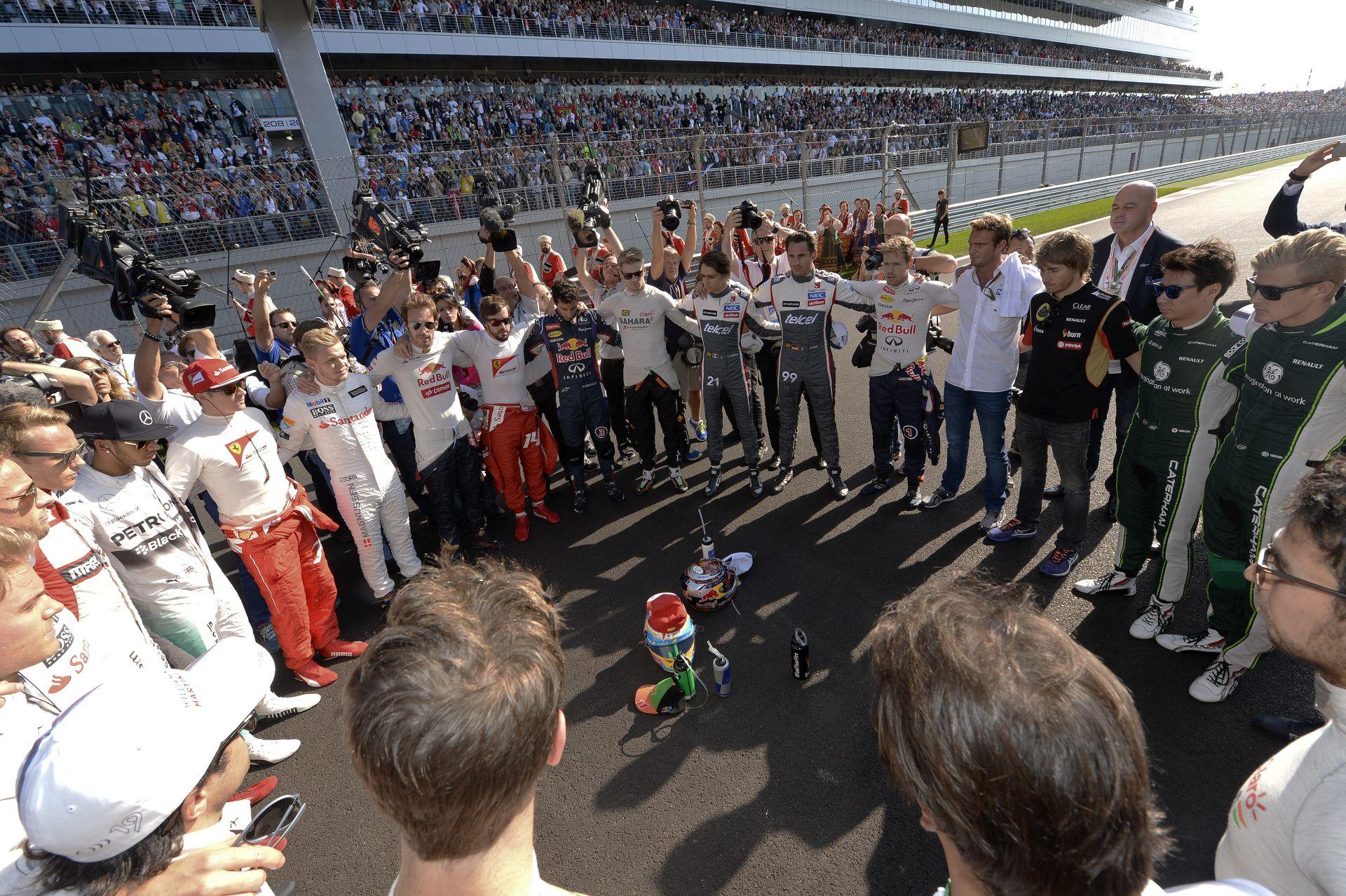 Massa örül, hogy minden versenyző ott volt a rajtrácson: egységet alkot a mezőny