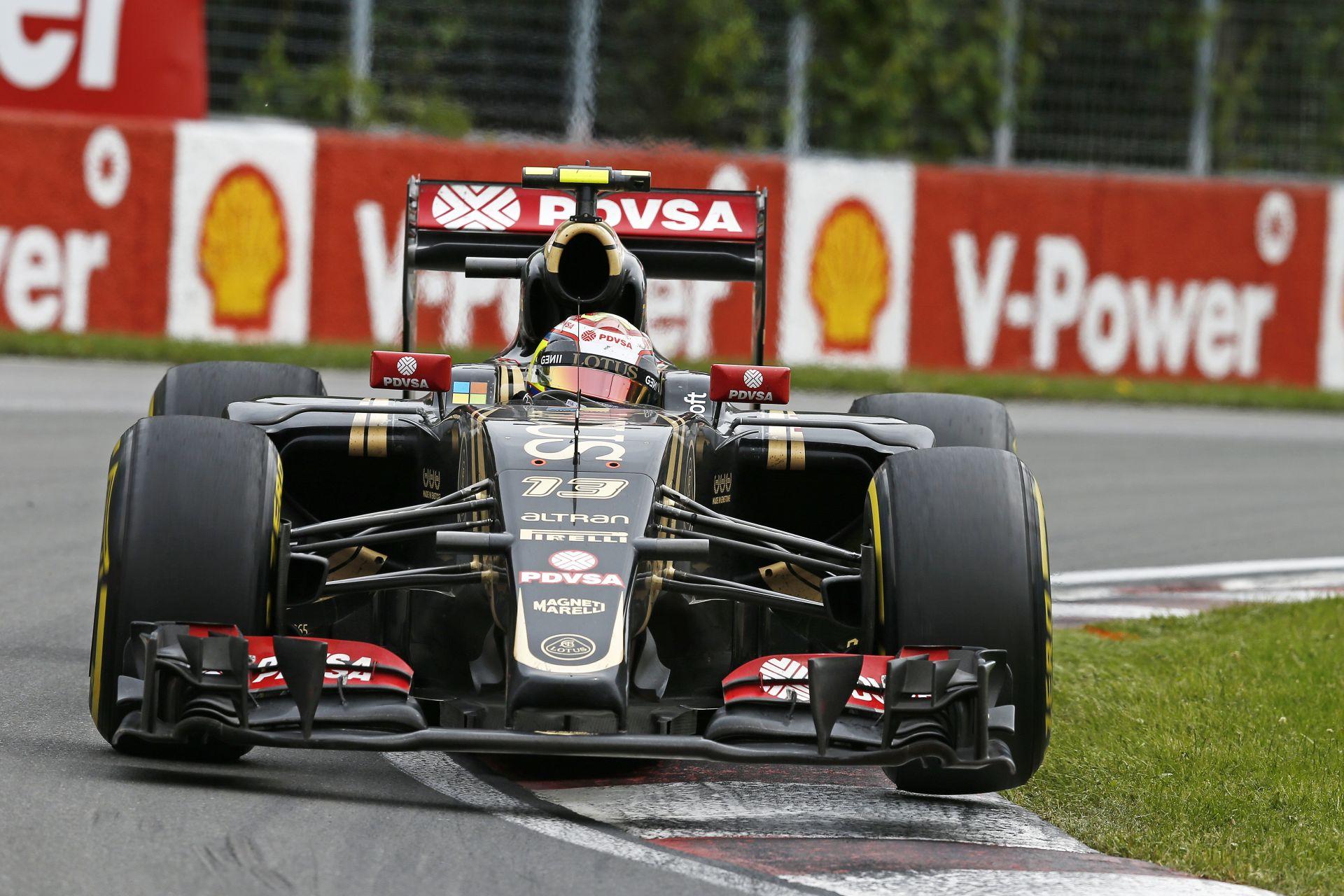 Maldonado tekergése a Lotusszal Kanadában: Végre versenyképes volt a gép!