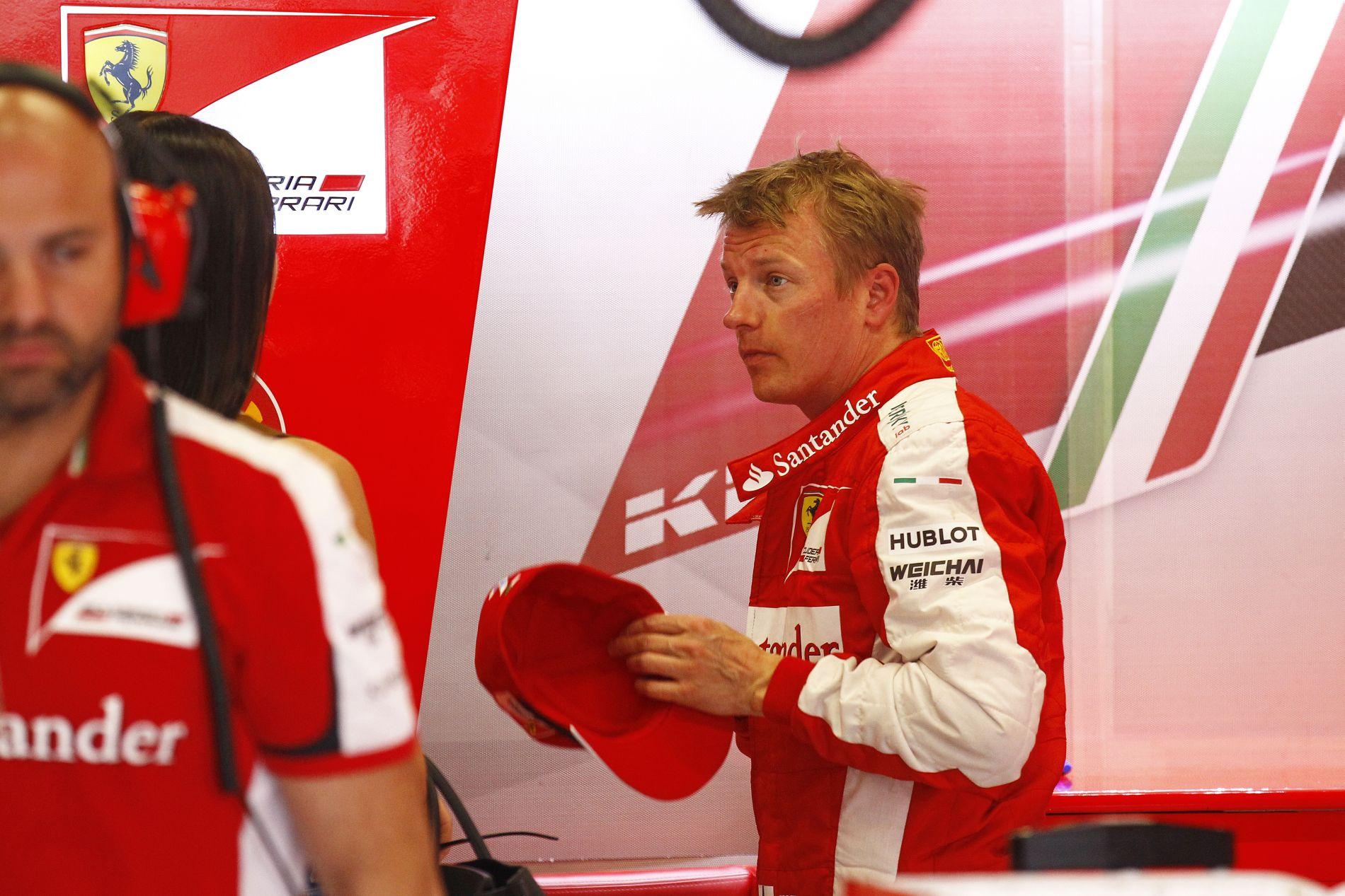Raikkonen nem tudja, hogyan lett ebből Q1 és korai búcsú