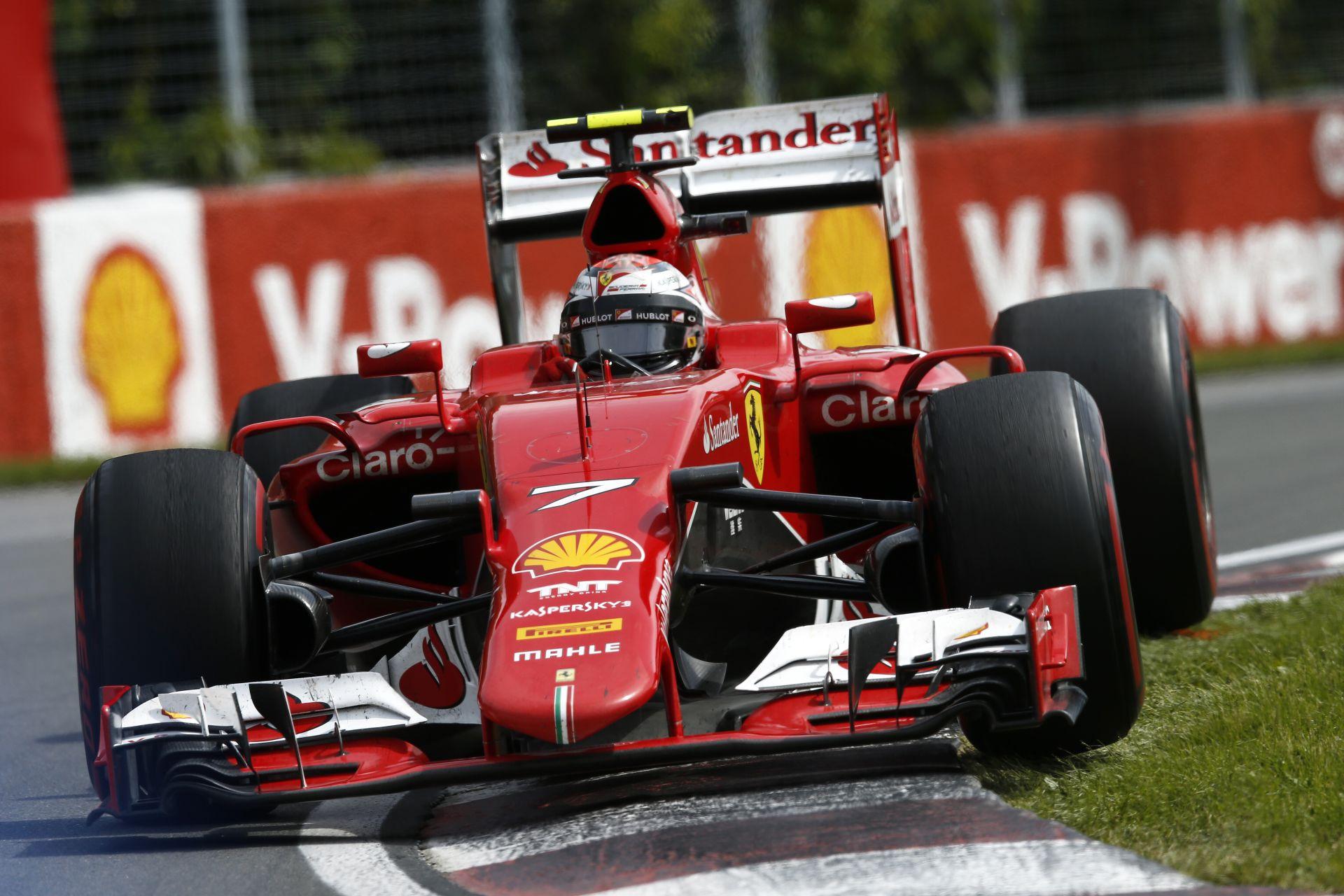Hatalmas baleset: Raikkönen és Alonso rommá törte az autóját! BRUTÁLIS!