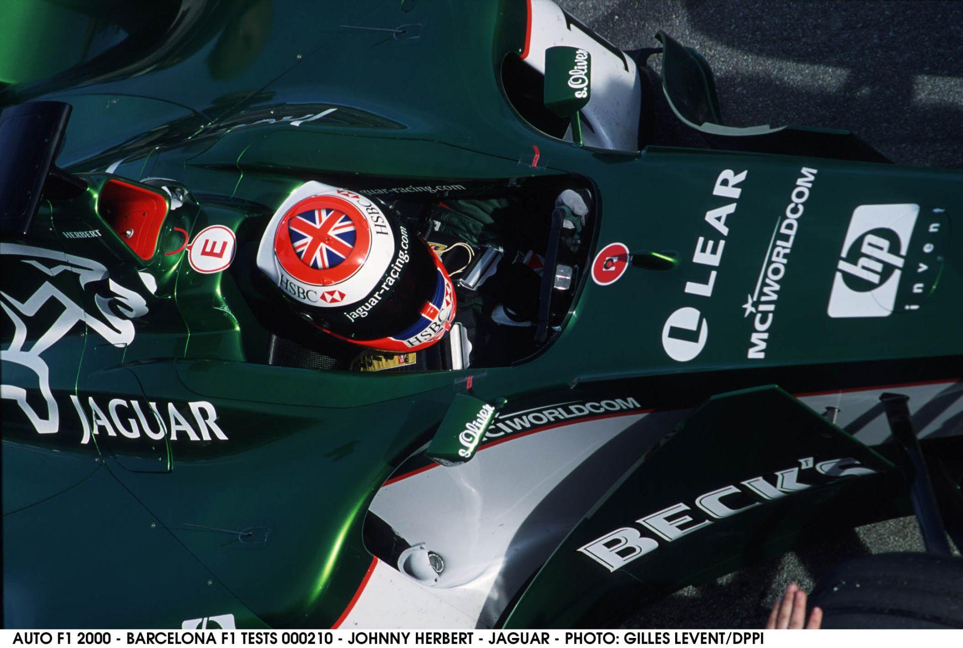 Ma 51 éves Johnny Herbert, a korábbi F1-es versenyző