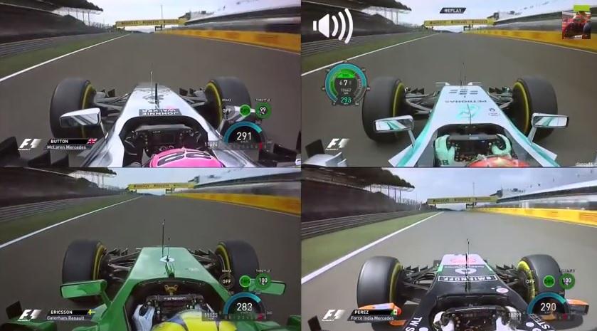 Magyar Nagydíj 2014: Exkluzív onboard felvételek a Hungaroringről! Mercedes Vs. McLaren Vs. Caterham Vs. Force India