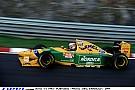 Videón Michael Schumacher és Jean Alesi csatája az 1993-as Belga Nagydíjon