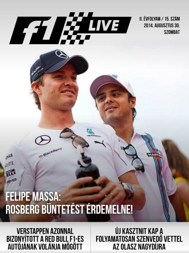 """Táblamagazin: Rosberg lett a """"gonosz"""""""