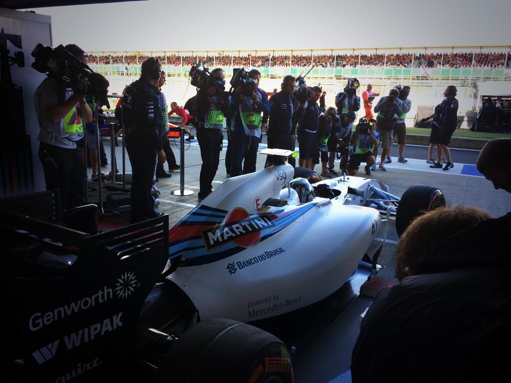 Ez nem Susie Wolff napja volt - remélhetőleg mindkét Williams pályán lesz az FP2-őn