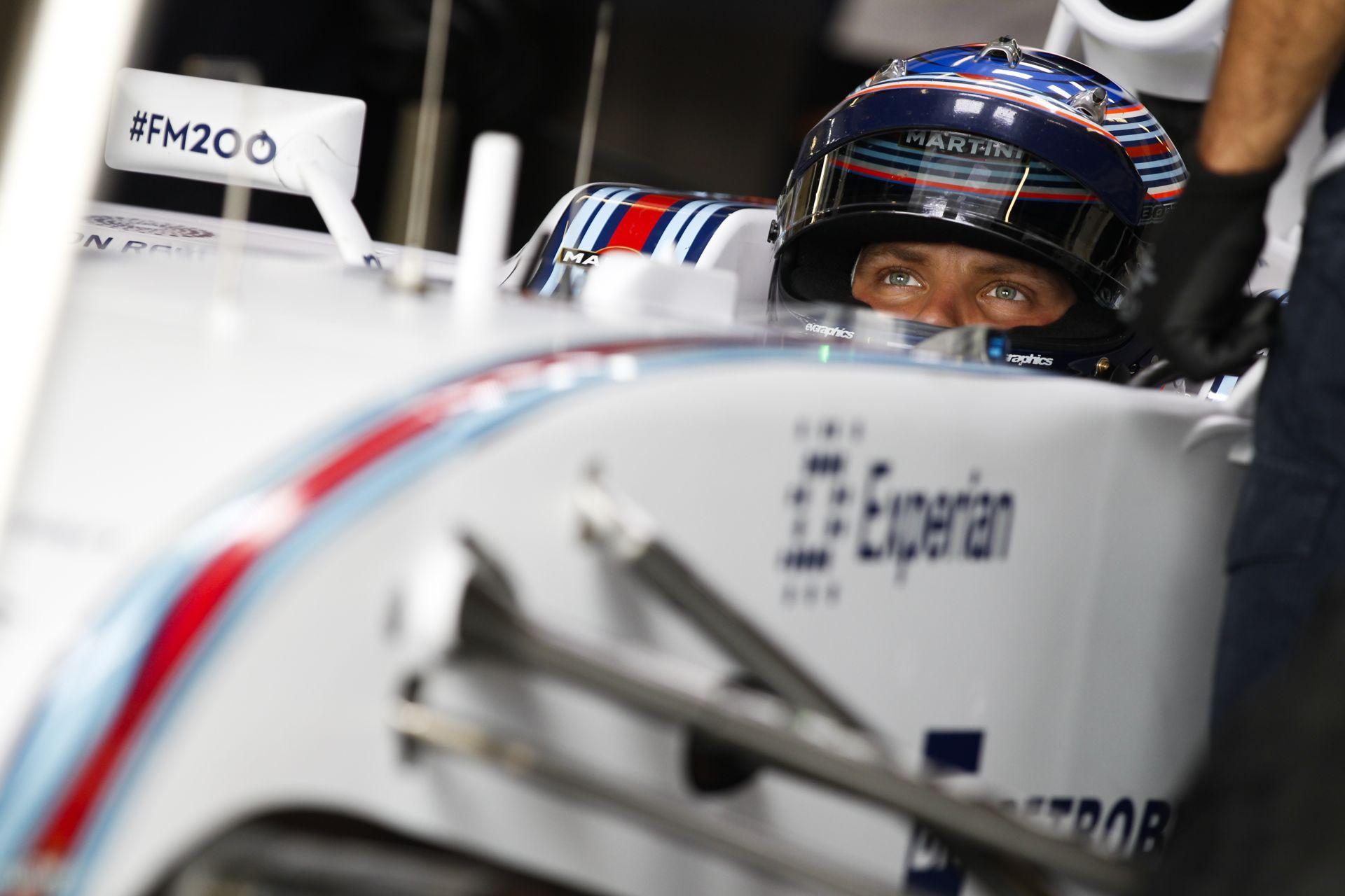 A Williams nem hisz a szemeinek: Újabb dobogós helyezés Bottastól