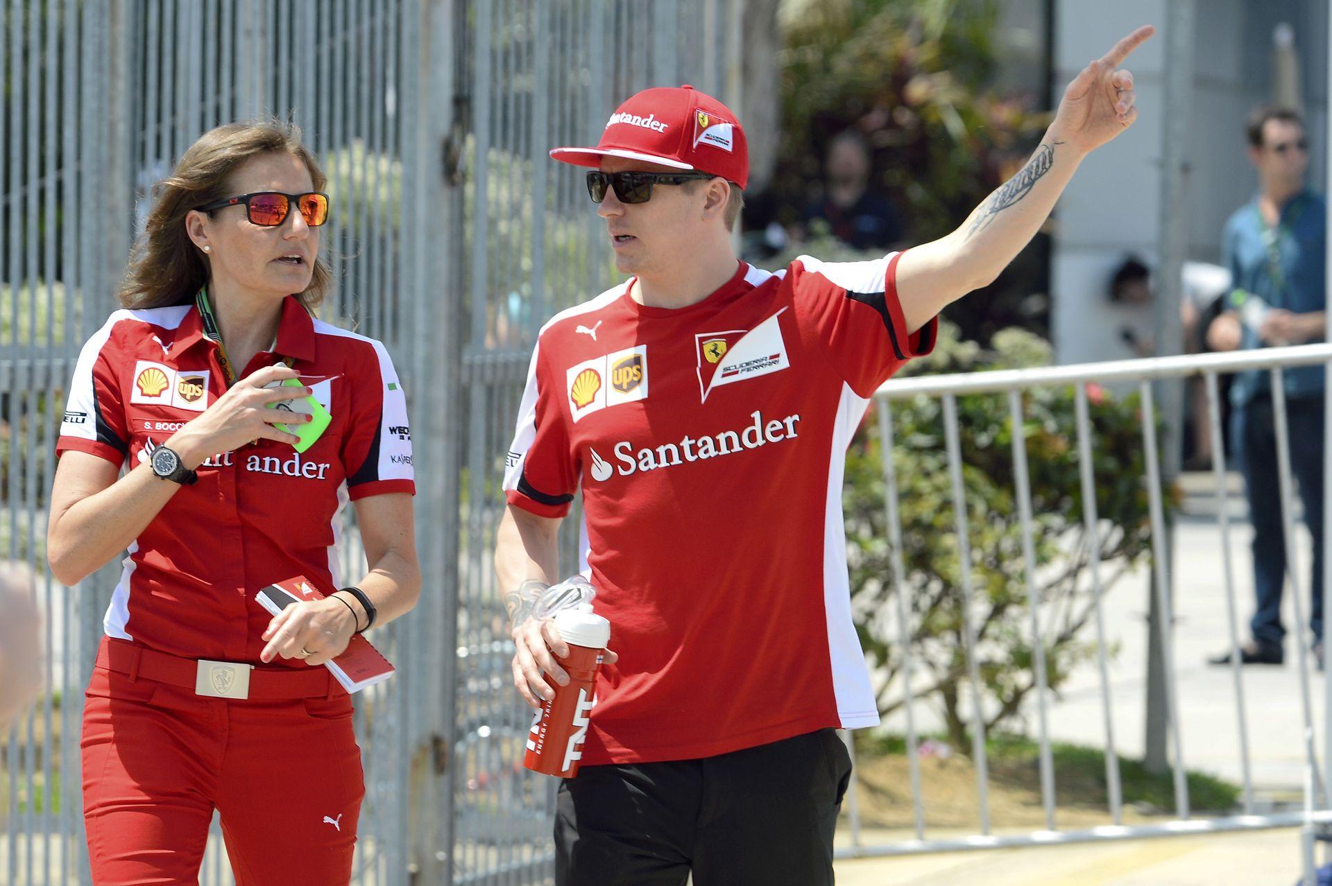 """Raikkönen menedzsere megvédte a """"Jégembert"""", aki legalább annyira jó, mint Vettel"""