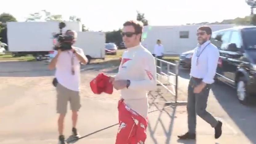 12 perces videó Alonso és Raikkönen gokartos párbajáról