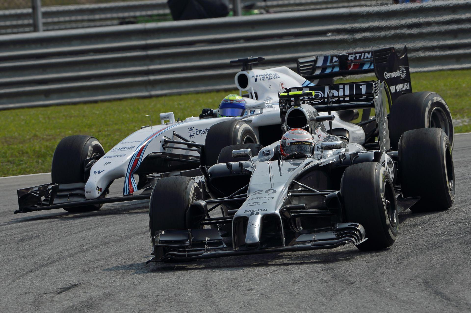 McLaren: Magnussen ártatlan volt a balesetben! Massa valószínűleg nem látta őt