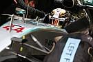 """Hamilton nyerte a Bahreini Nagydíj időmérőjét az """"Ezeréves Sólyommal""""! Vettel a második a Ferrarival Rosberg, és Raikkönen előtt"""