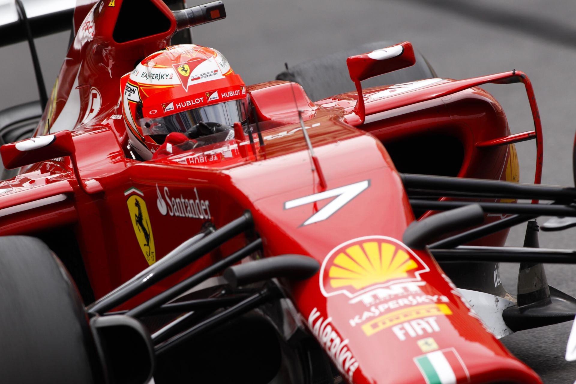 Raikkönen 2015-ben is a Ferrarival versenyezne a Forma-1-ben