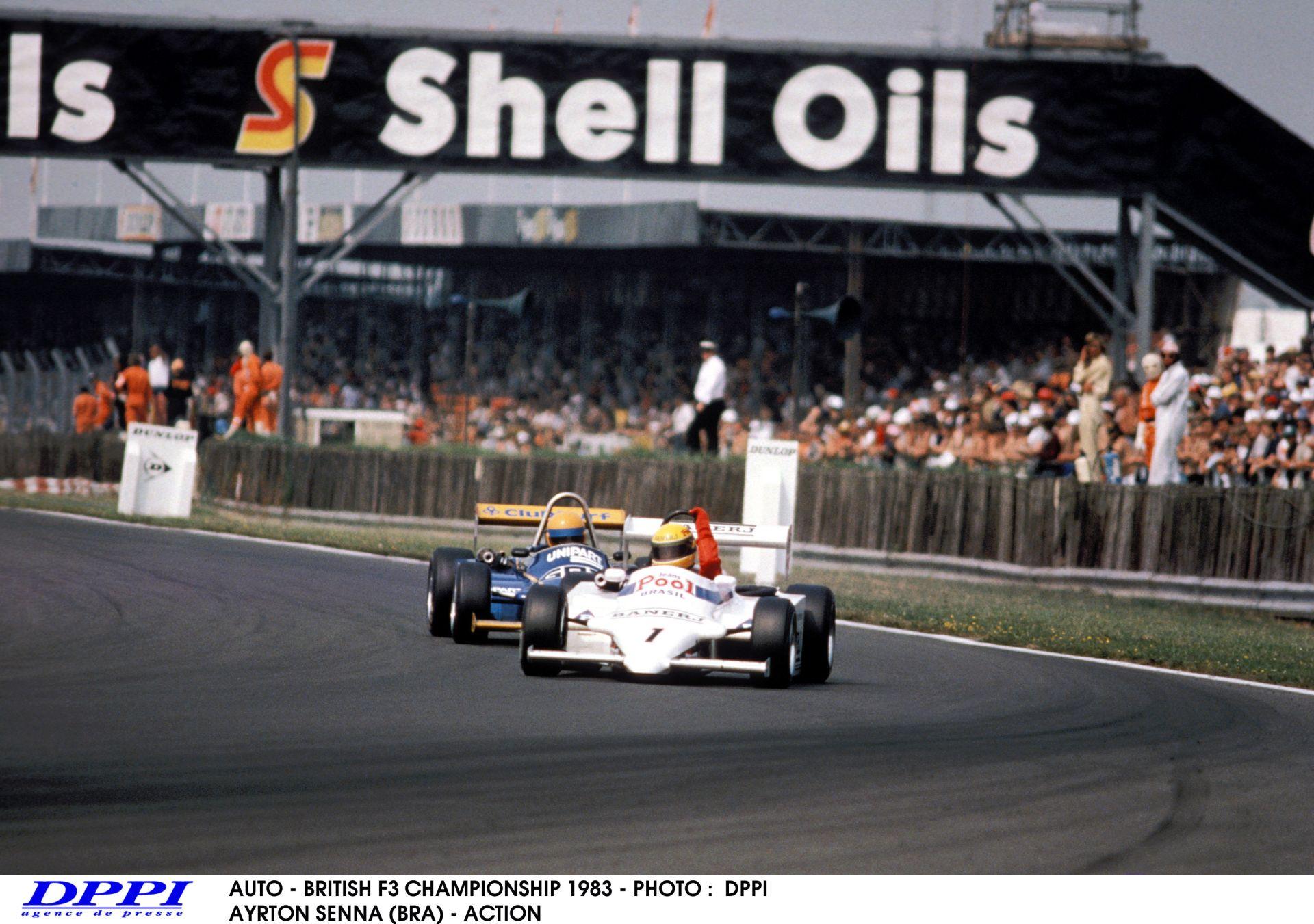 Ayrton Senna és az első F1-es teszt: Azonnal letette a névjegyét - 1983, Donington Park