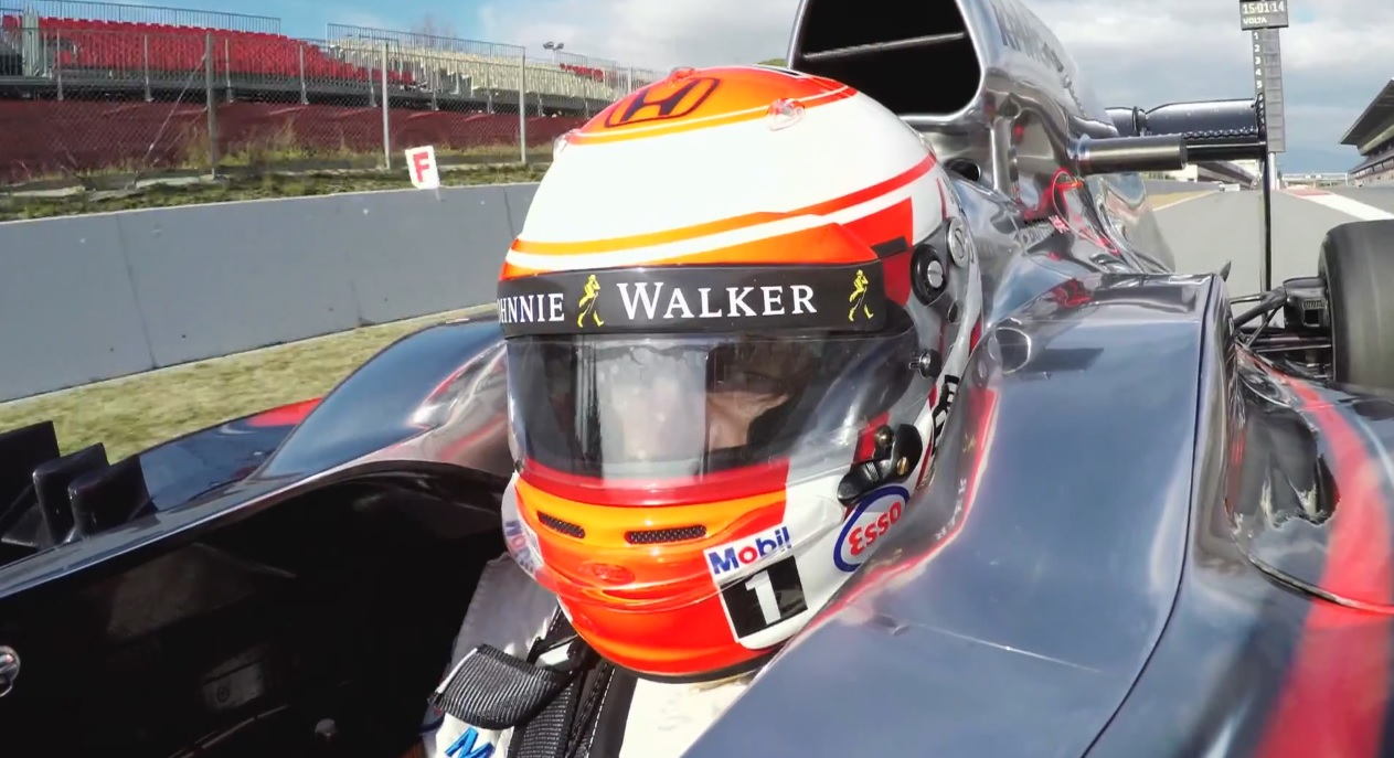 Egy F1-es felvétel, amit nem szabad kihagynod: Button és a McLaren-Honda