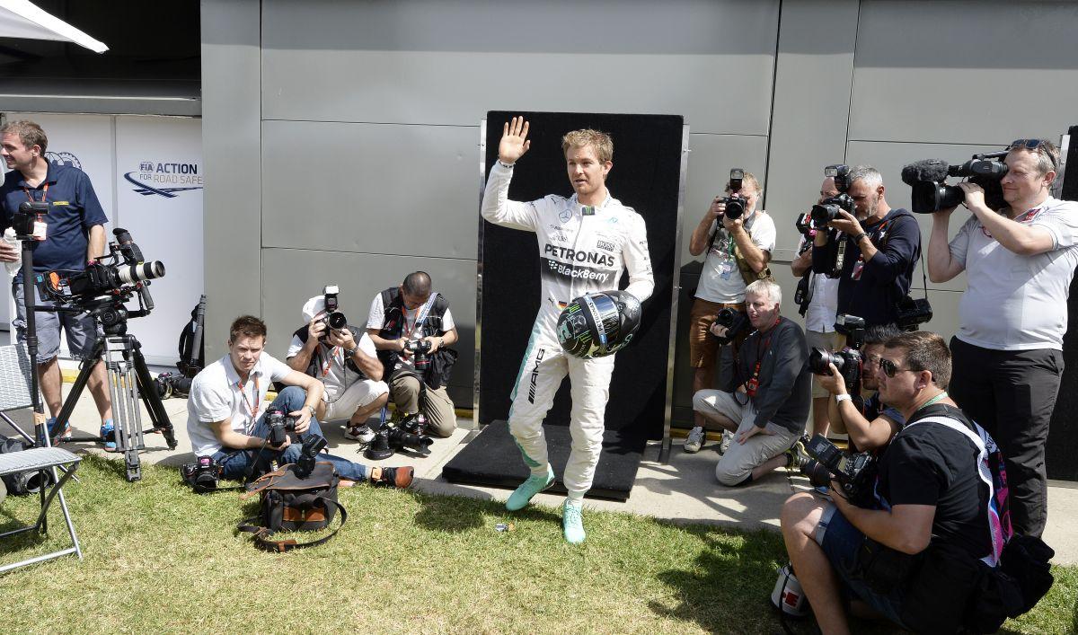 Rosszkor jön a gyerek Rosberg számára?