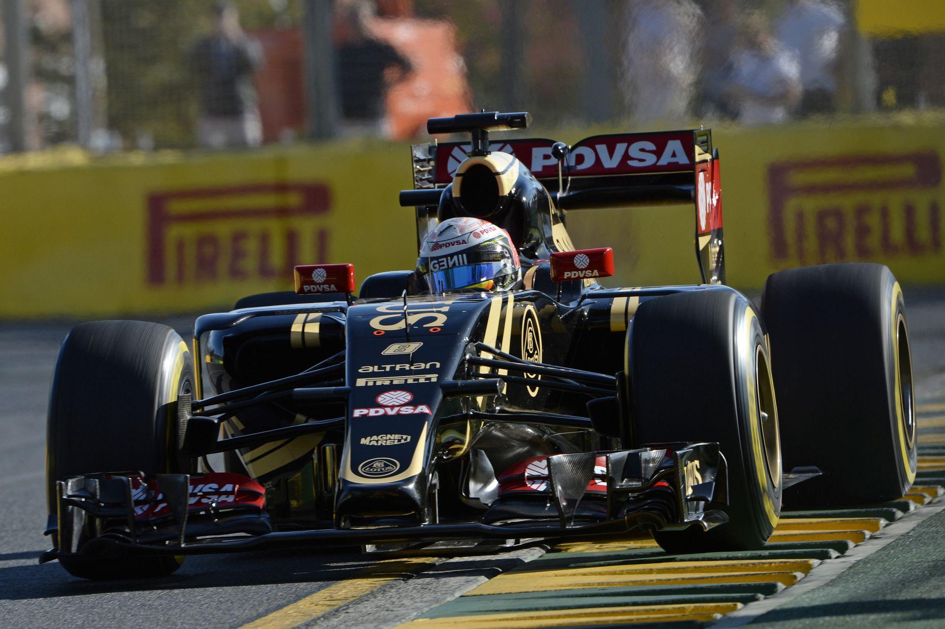 Dupla KO a Lotusnál: Grosjean és Maldonado is szomorú Ausztráliában