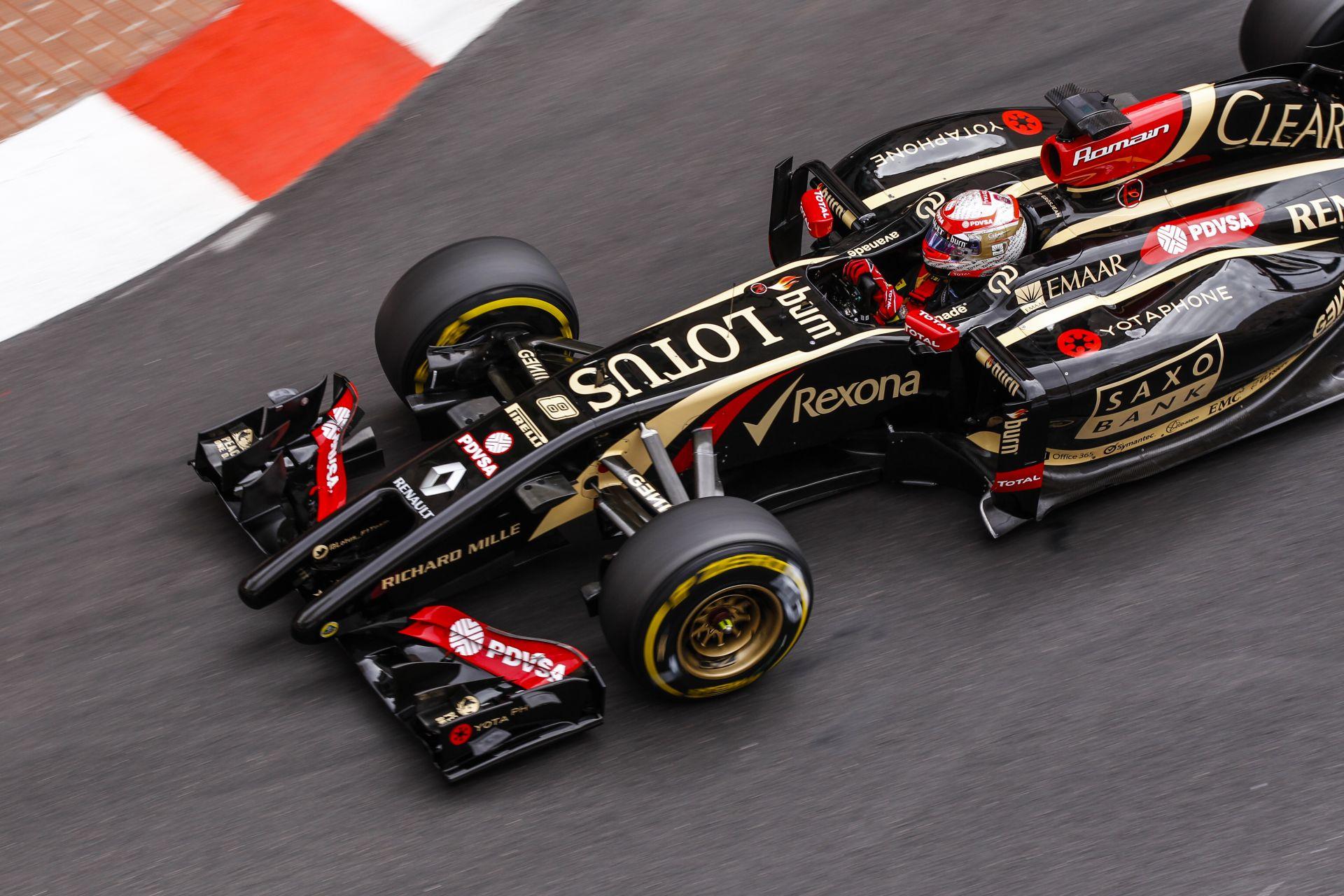 A Lotus ismét visszaesett, Grosjean és Maldonado is csalódott Monacóban